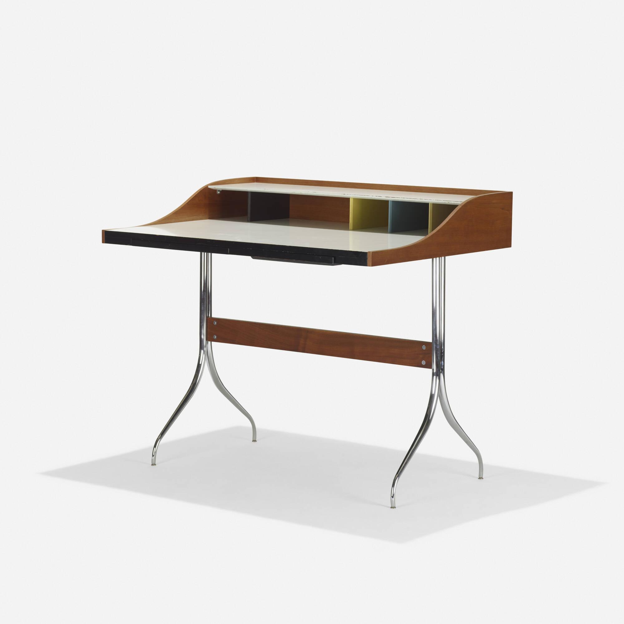 100: George Nelson U0026 Associates / Swag Leg Desk (1 Of ...