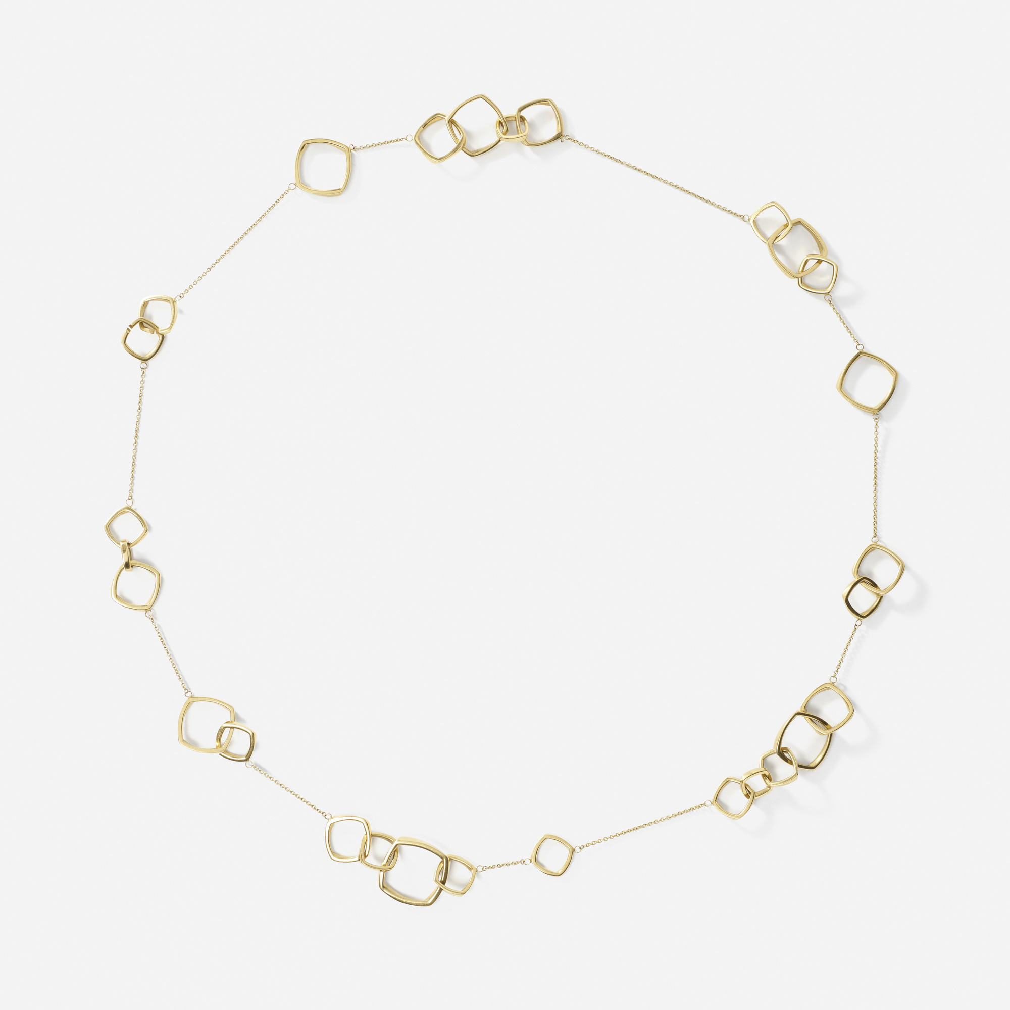 100: Frank Gehry for Tiffany & Co. / A gold Torque necklace (1 of 2)