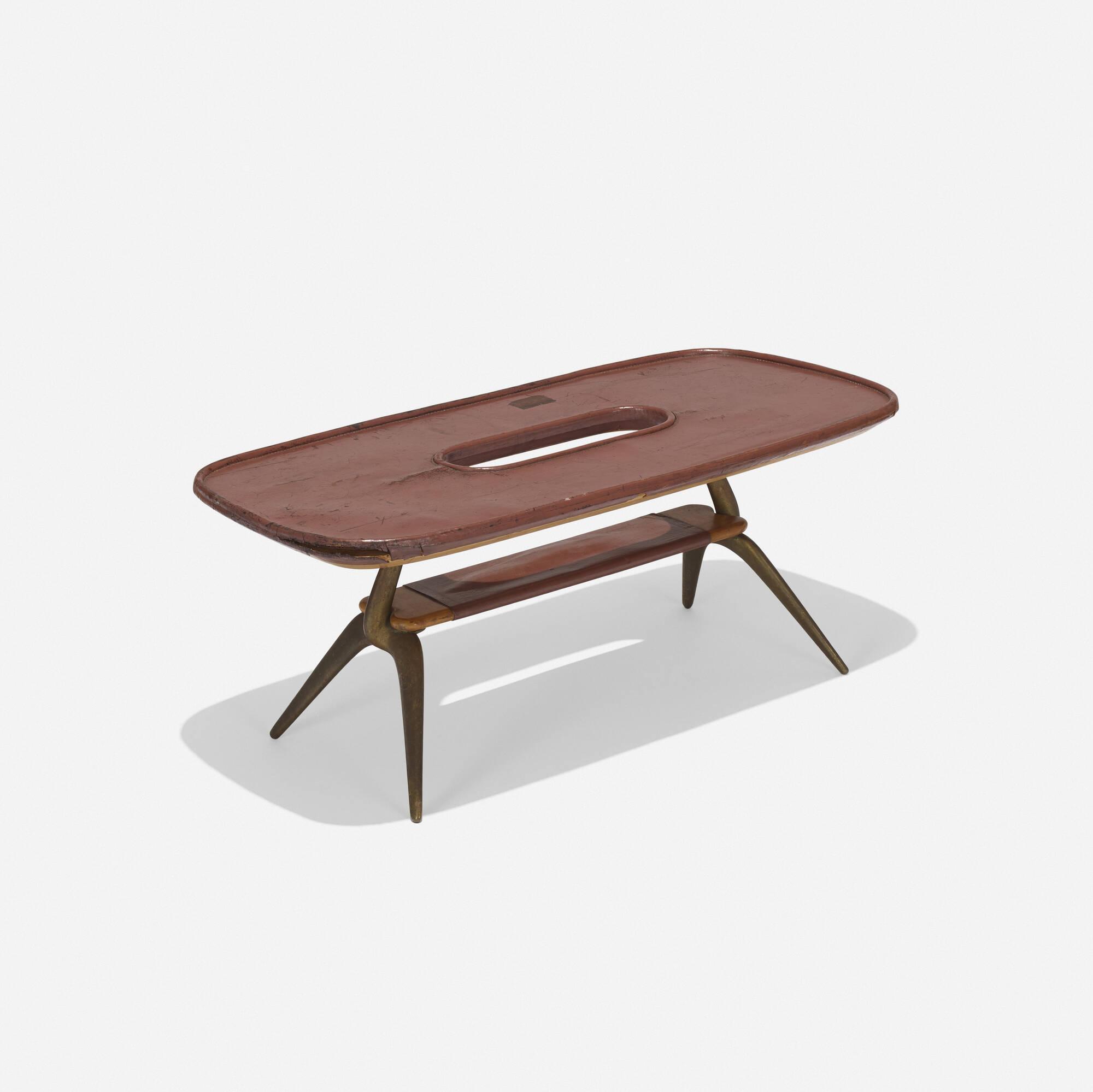 100: Carl Auböck II / rare table (1 of 3)
