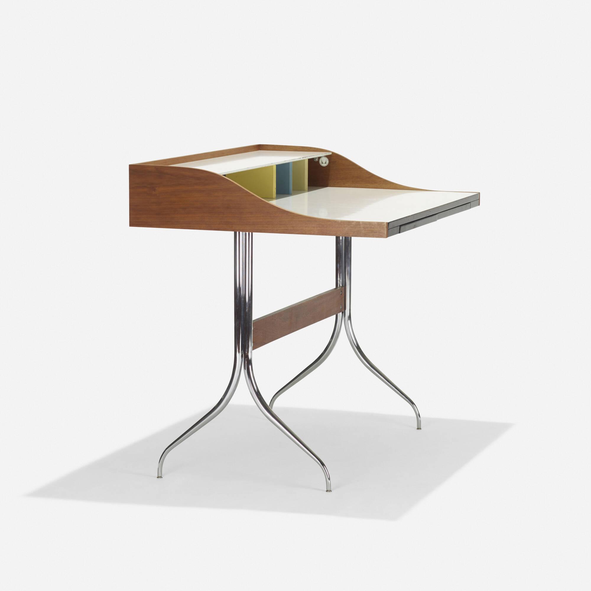 ... 100: George Nelson U0026 Associates / Swag Leg Desk (2 Of ...