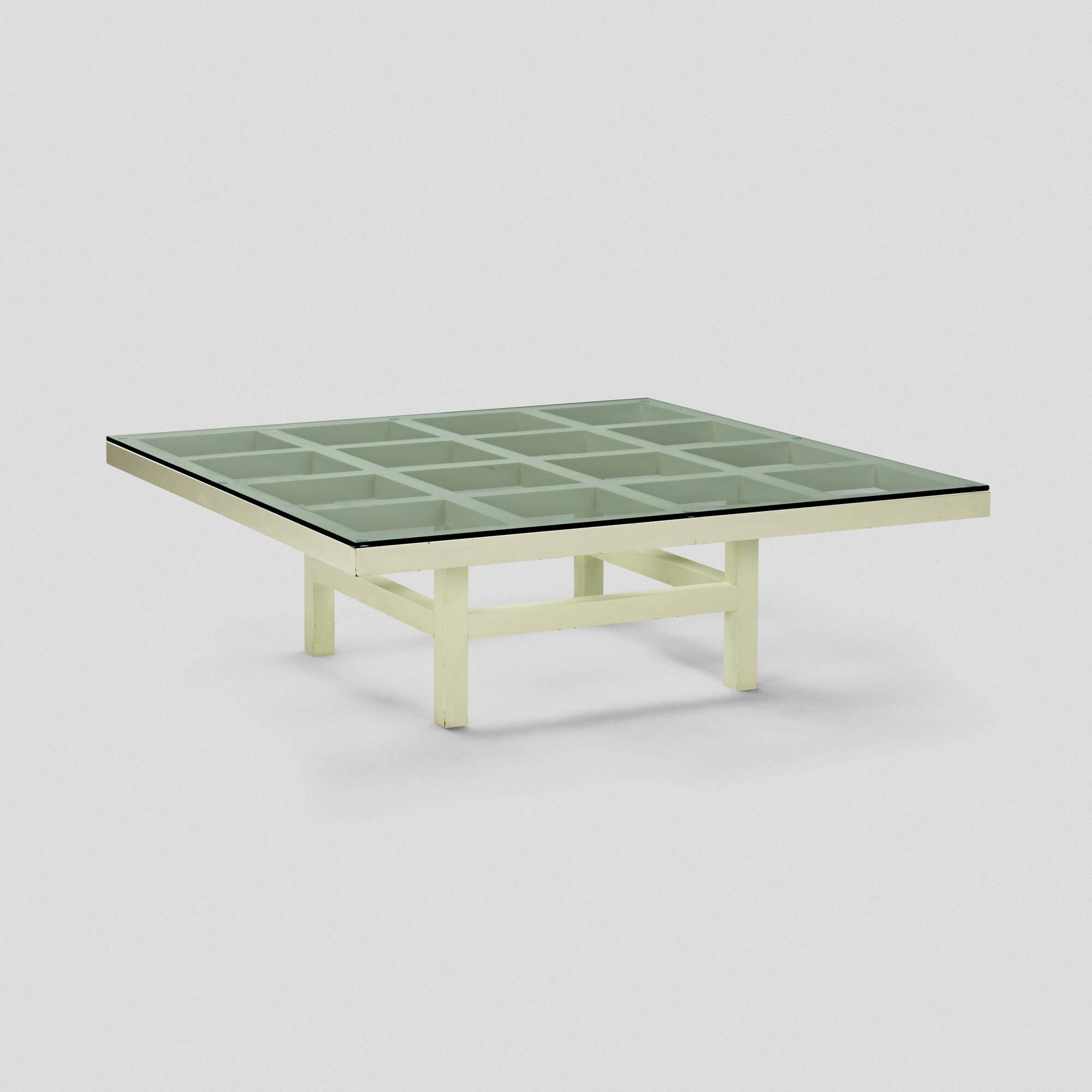 100 Sol LeWitt coffee table Design 26 October 2017