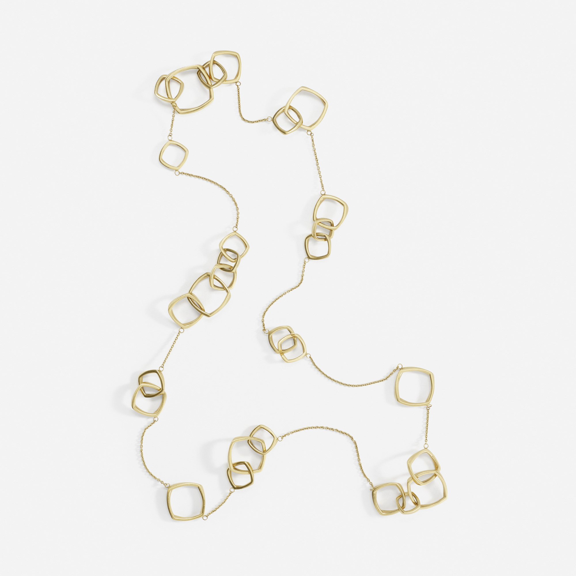 100 Frank Gehry For Tiffany Co A Gold Torque Necklace