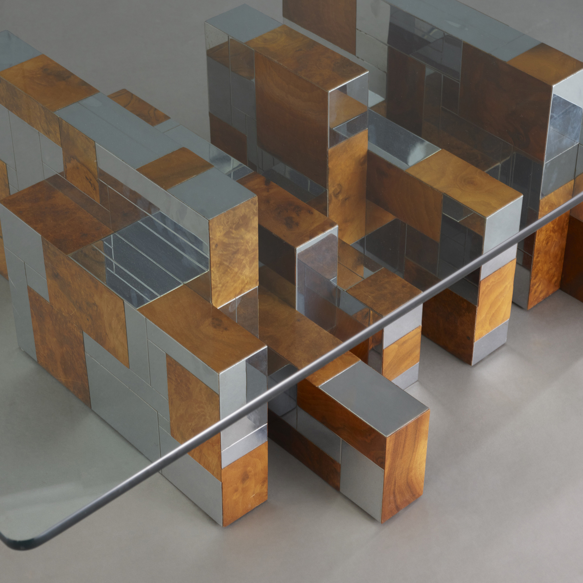 ... 100: Paul Evans / Cityscape Coffee Table From The PE 400 Series (2 Of