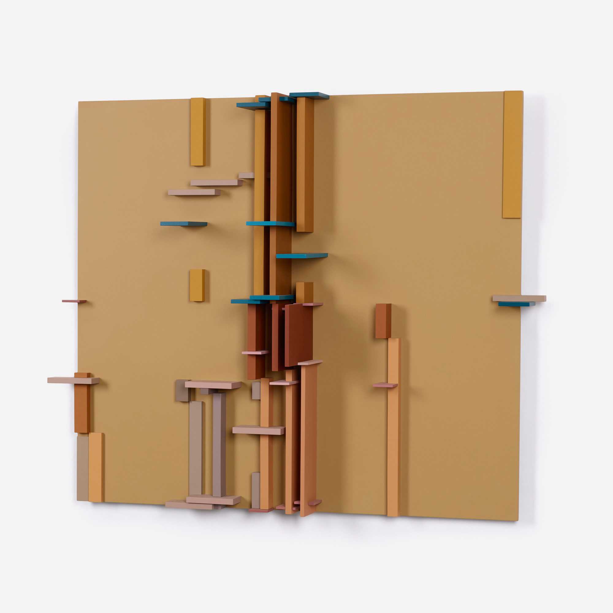 100: David Barr / Structurist Relief No. 112 (2 of 3)