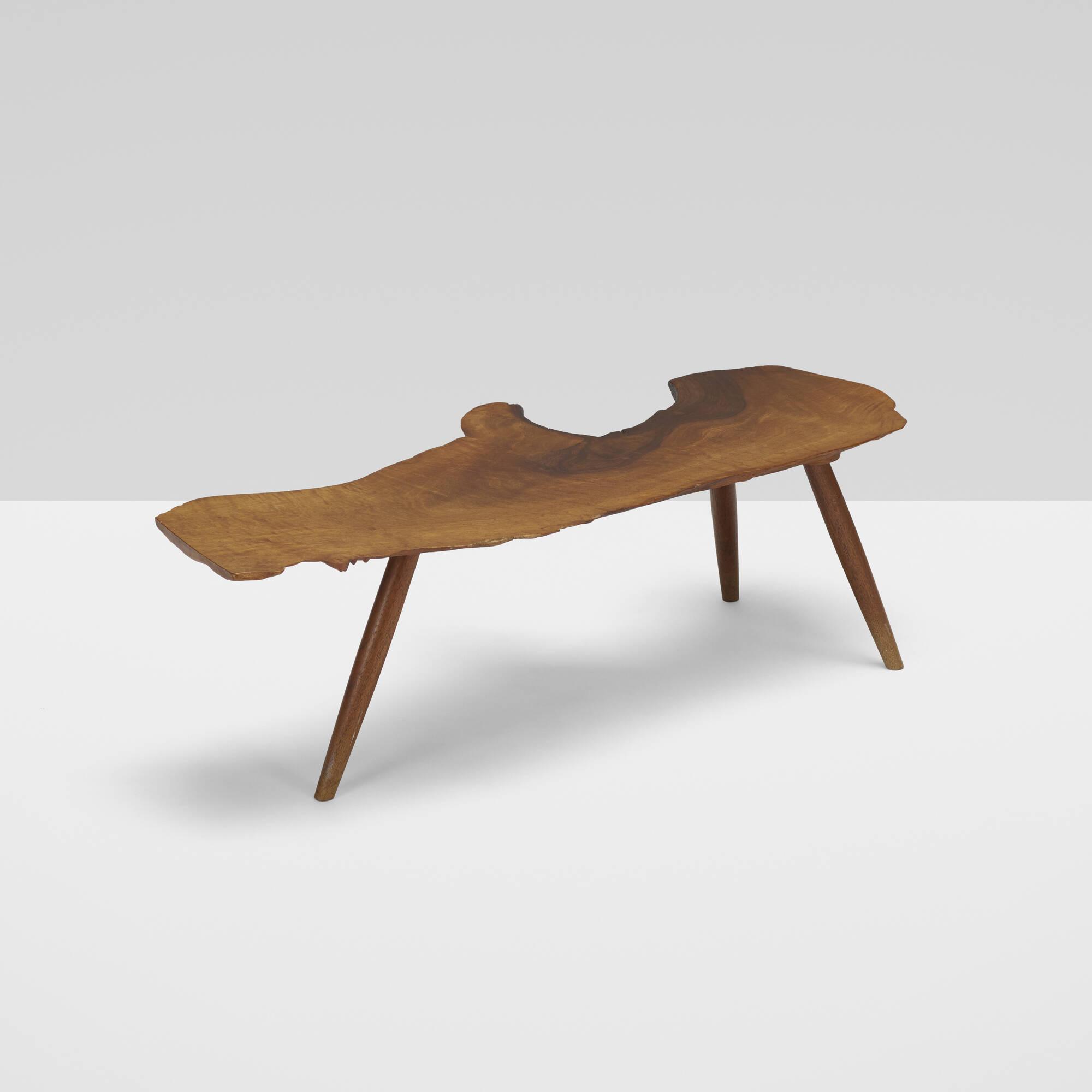101: George Nakashima / Slab coffee table (1 of 3)