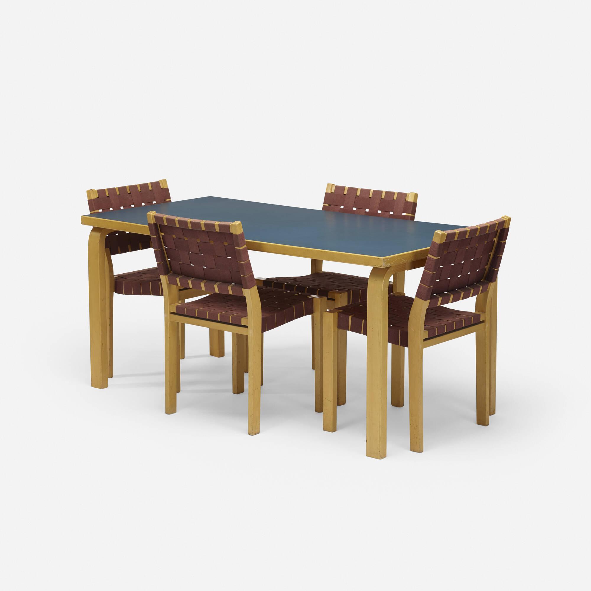 101: Alvar Aalto / dining set (1 of 2)