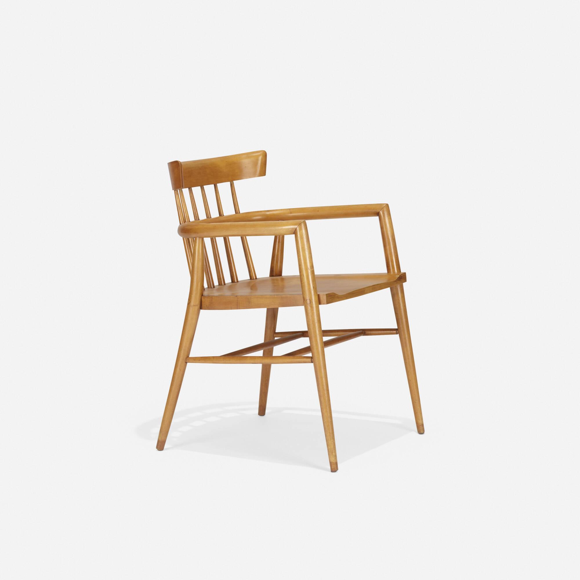 101 Paul Mccobb Planner Group Captain S Chair Model 1532