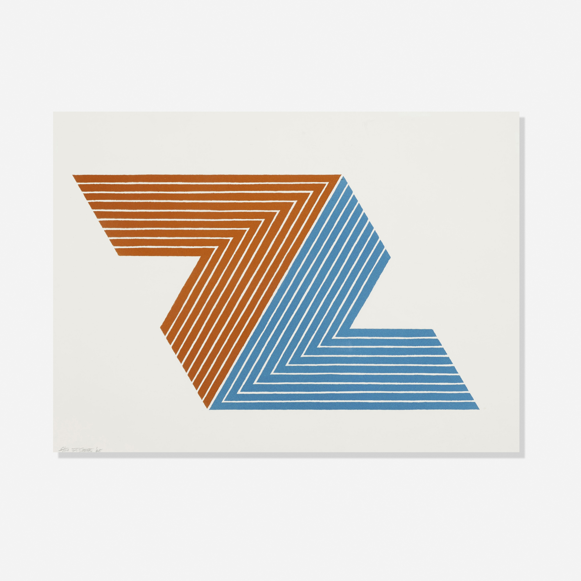 101: Frank Stella / Itata (from the V Series) (1 of 2)