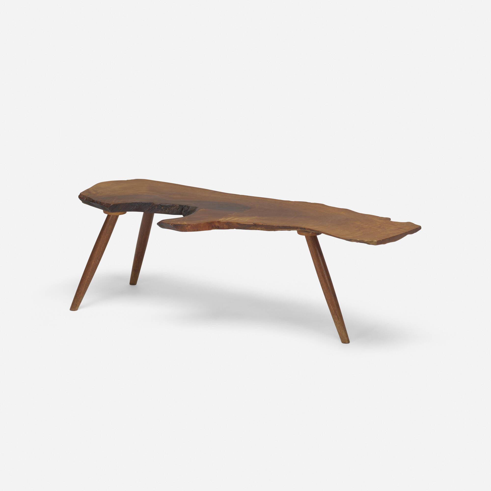 101: George Nakashima / Slab coffee table (2 of 3)