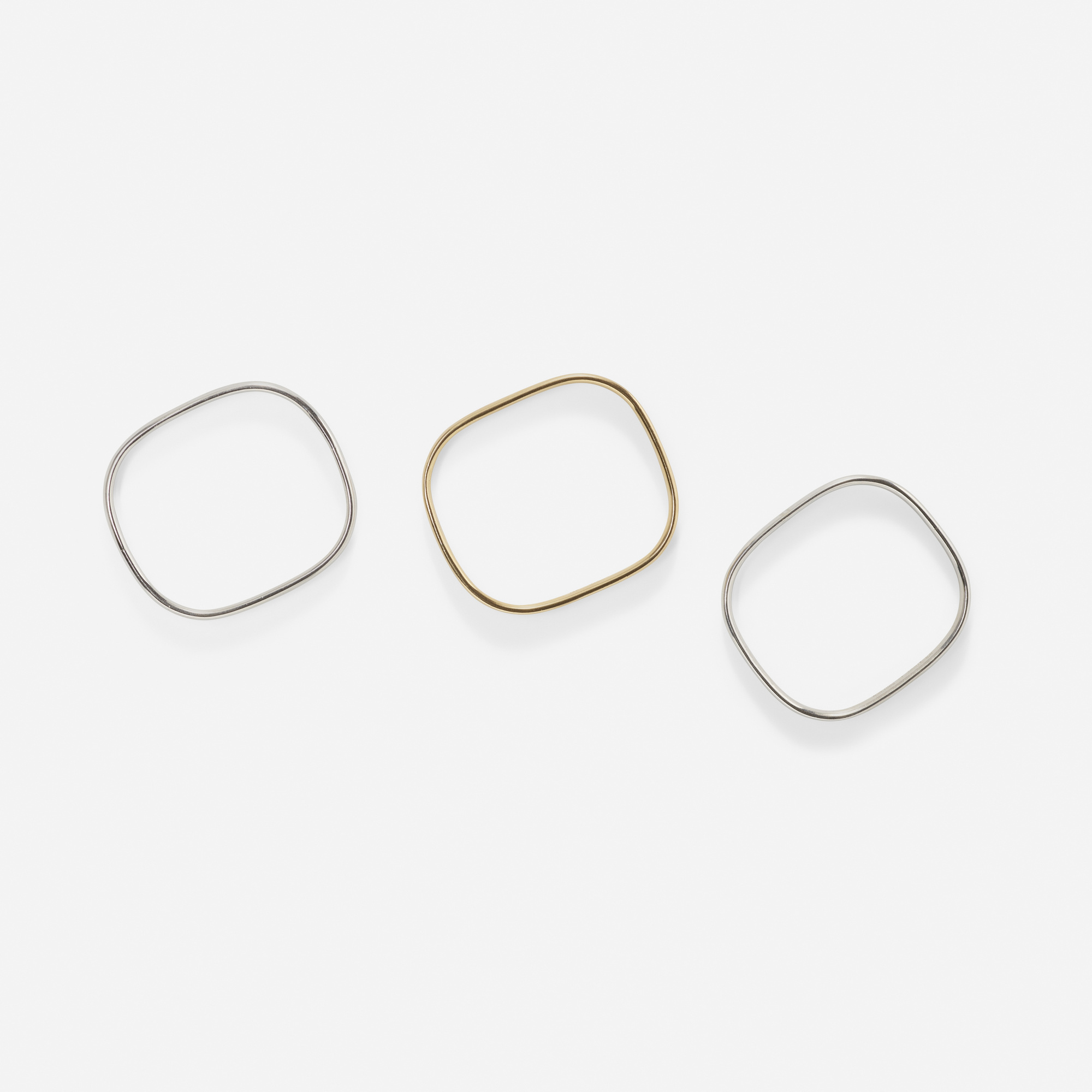 101: Jean Dinh Van for Cartier / A set of three gold bangles (2 of 2)