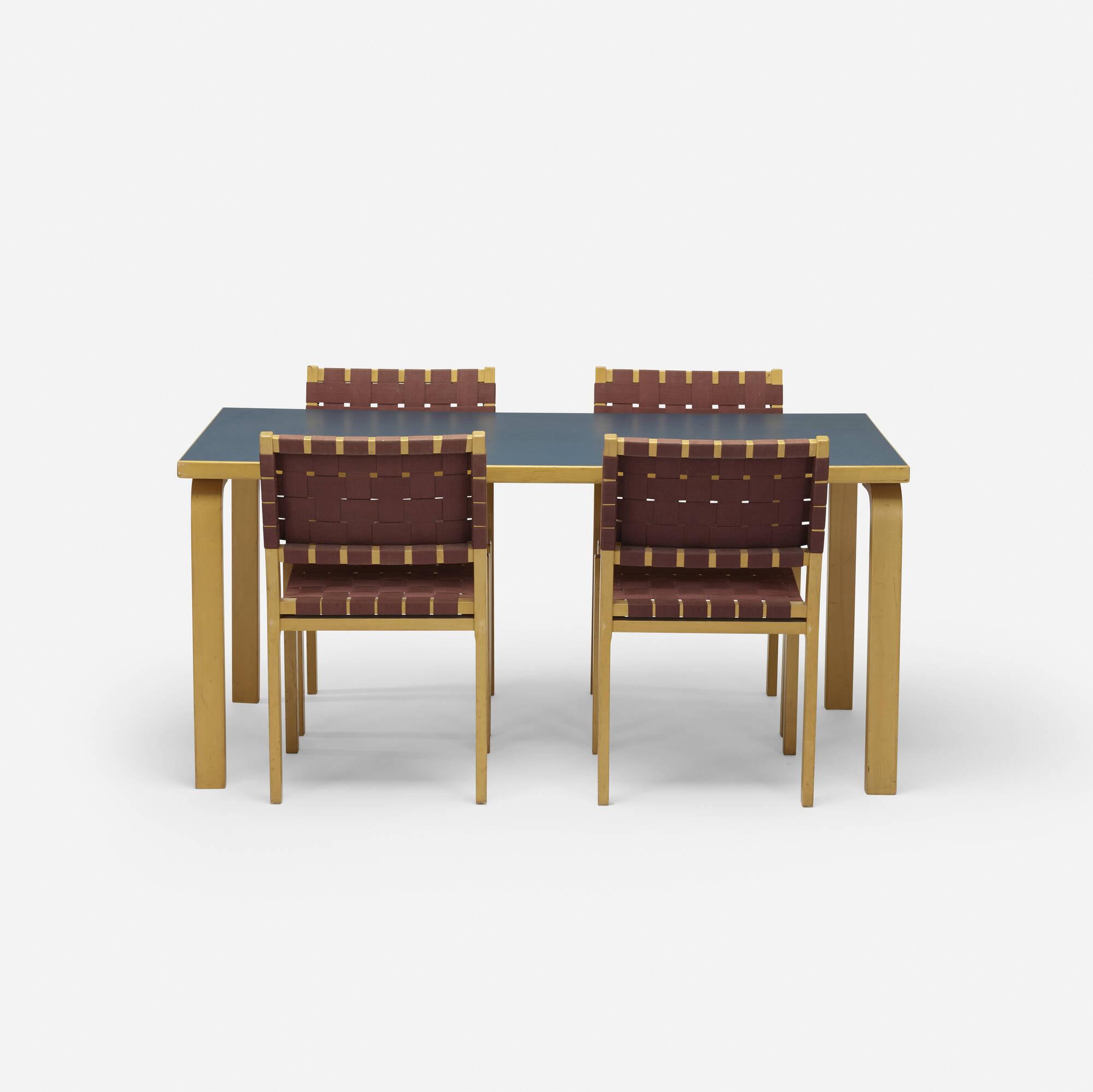 101: Alvar Aalto / dining set (2 of 2)