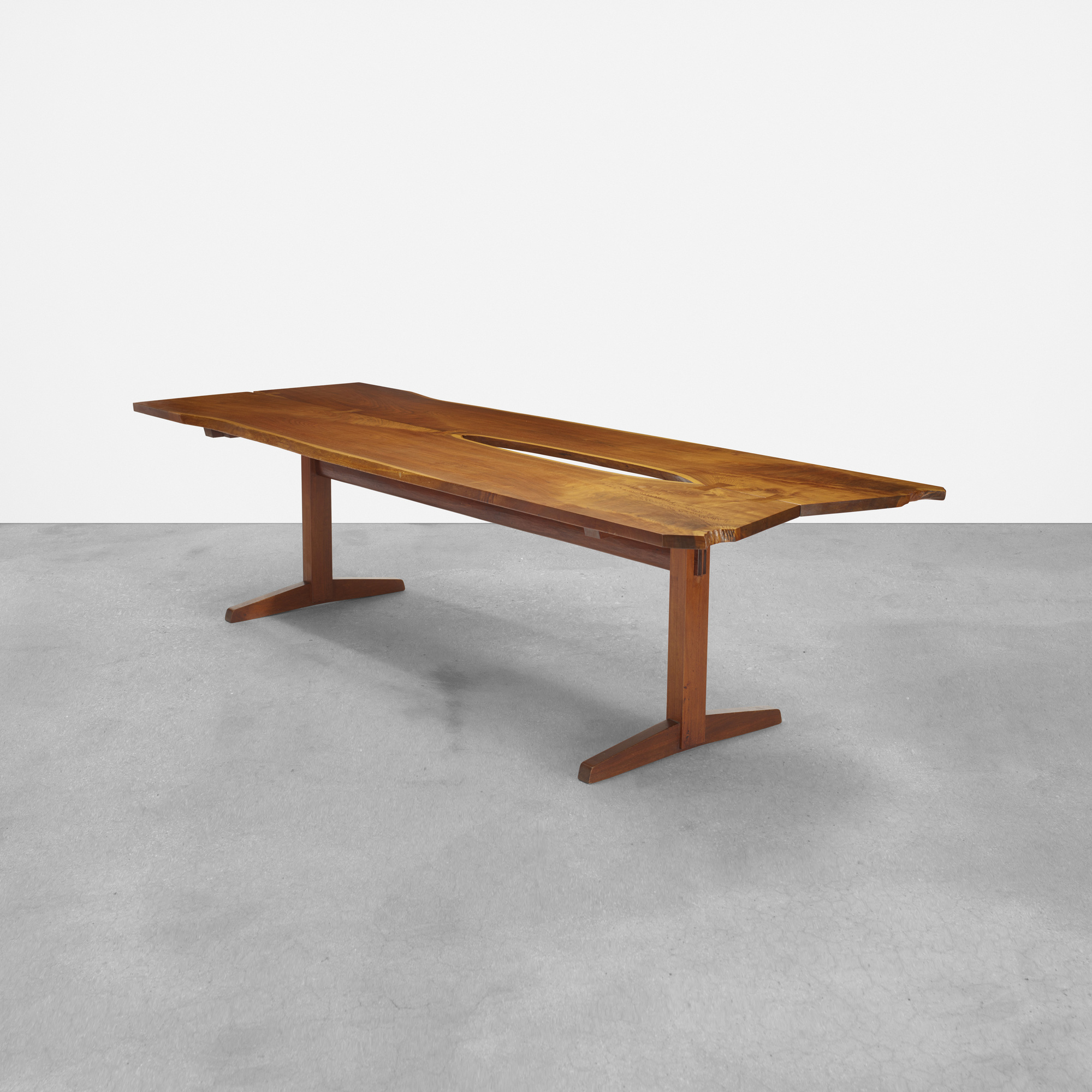 102: George Nakashima / Early And Important Trestle Dining Table (1 Of 4)