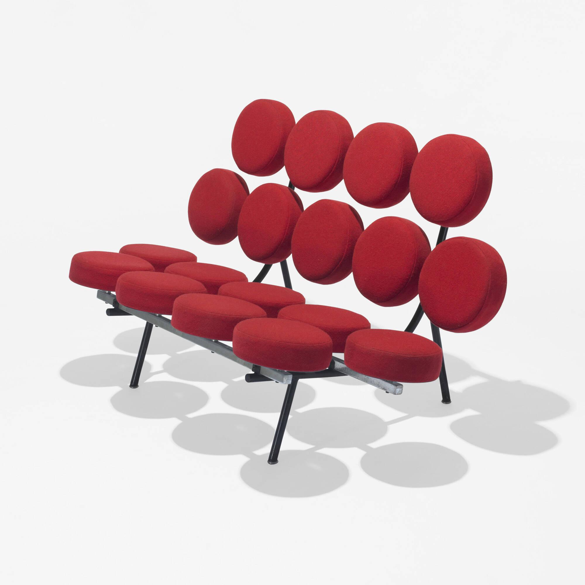 Charmant 102: George Nelson U0026 Associates / Marshmallow Sofa (1 Of ...