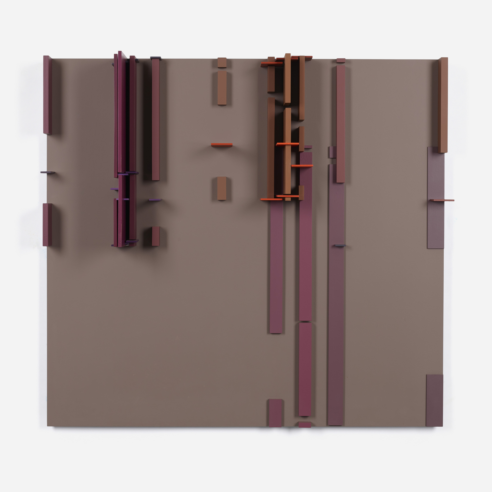102: David Barr / Structurist Relief No. 104 (1 of 4)