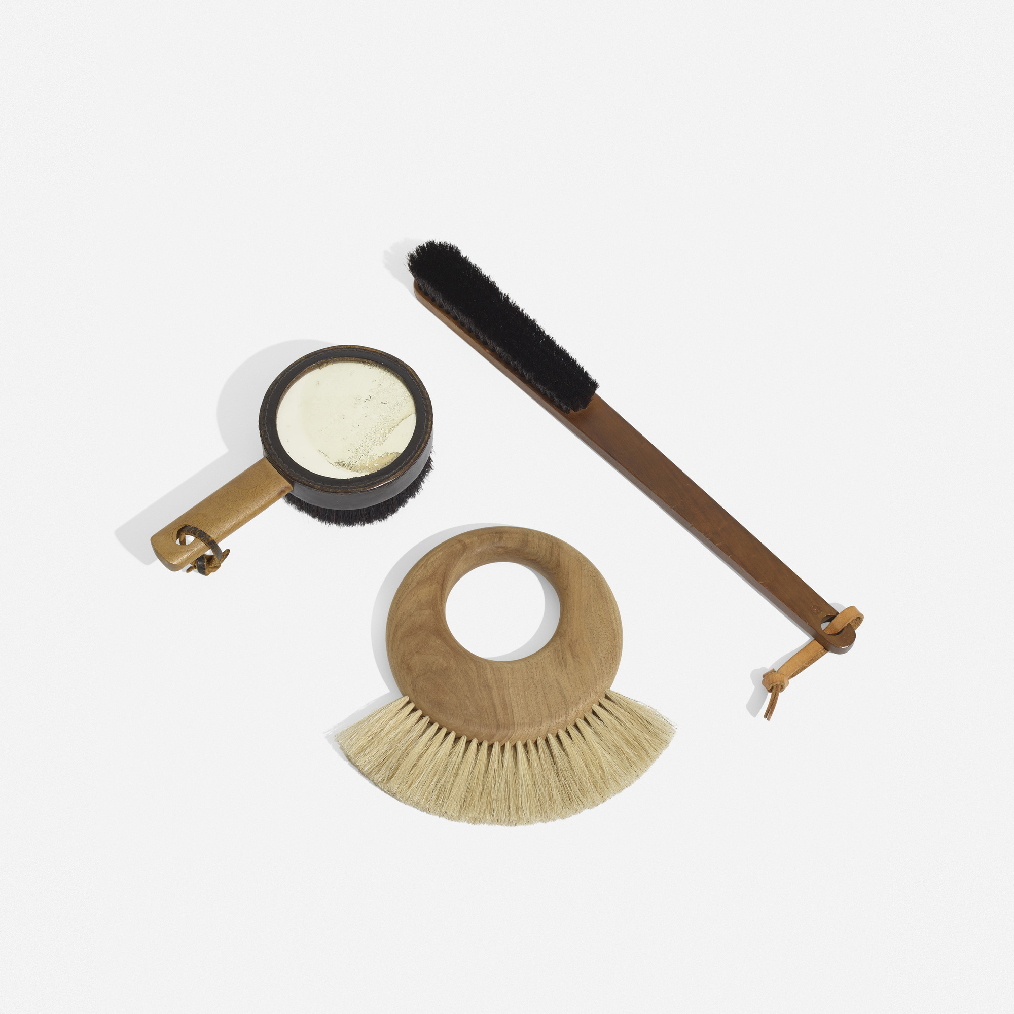 102: Carl Auböck II and Carl Auböck III / collection of three clothes brushes (1 of 2)