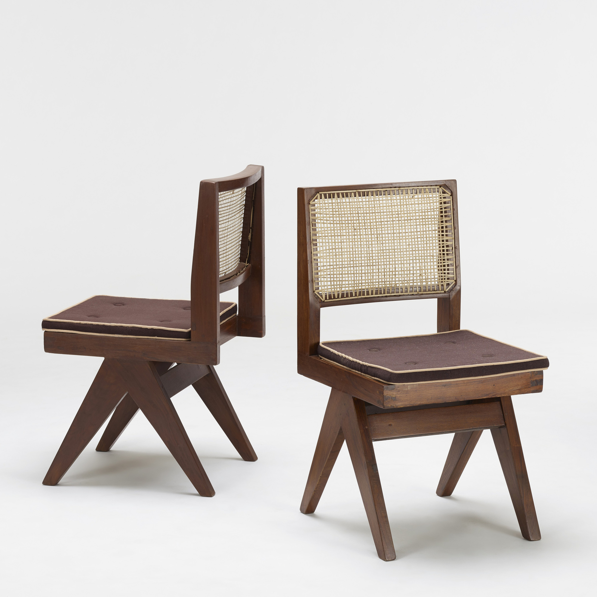 102: Pierre Jeanneret / set of eight chairs from Chandigarh (2 of 3)