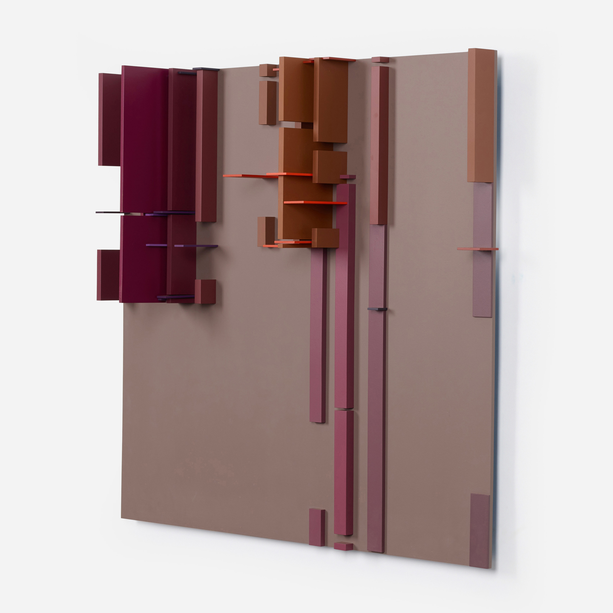 102: David Barr / Structurist Relief No. 104 (2 of 4)