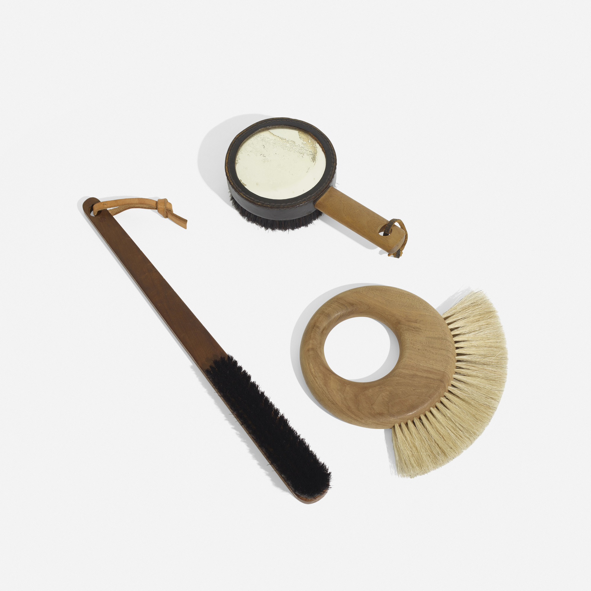 102: Carl Auböck II and Carl Auböck III / collection of three clothes brushes (2 of 2)