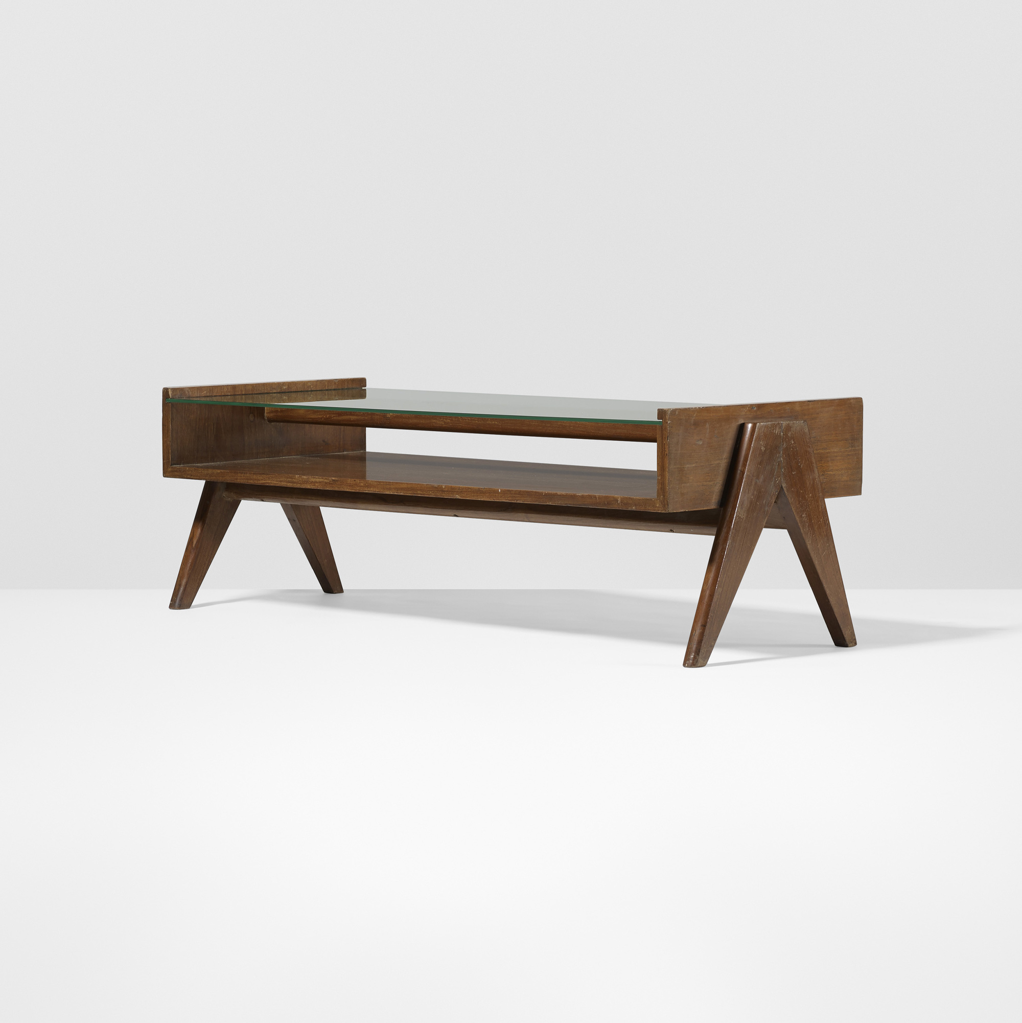 103: Pierre Jeanneret / coffee table from Chandigarh < Le ...