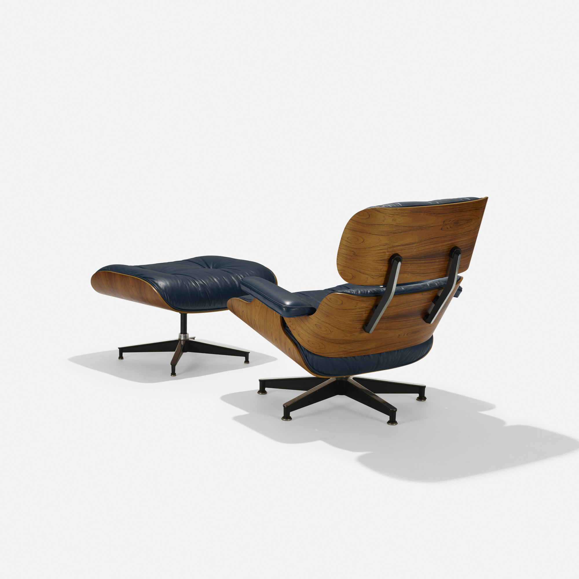 103: Charles and Ray Eames / special-order 670 lounge chair and 671 ottoman (2 of 4)