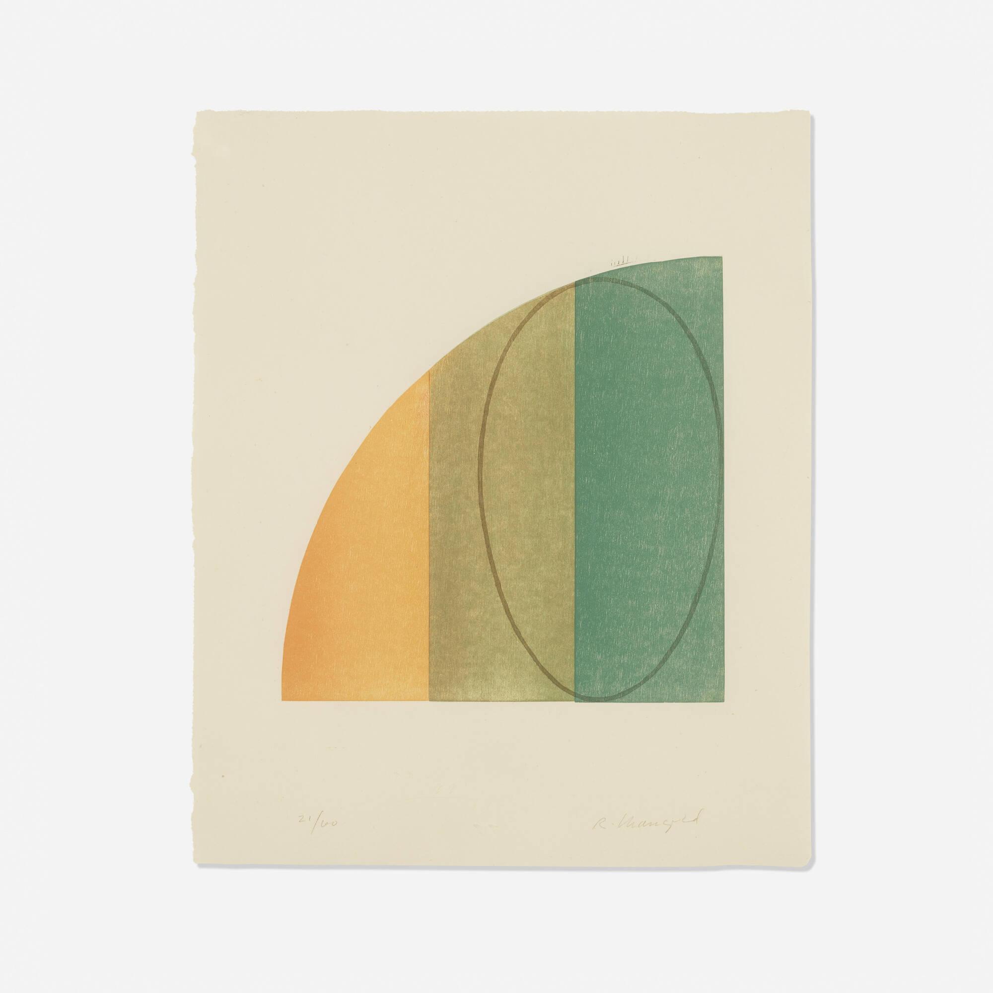 104: Robert Mangold / Curved Plane/Figure III (1 of 1)