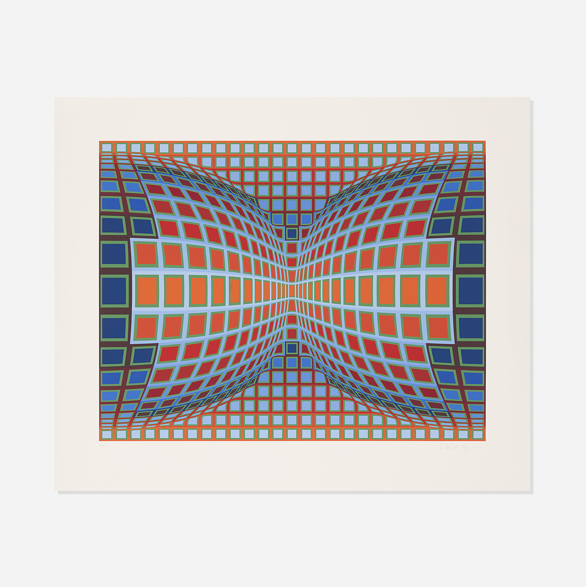 104: Victor Vasarely / Papillon (1 of 1)