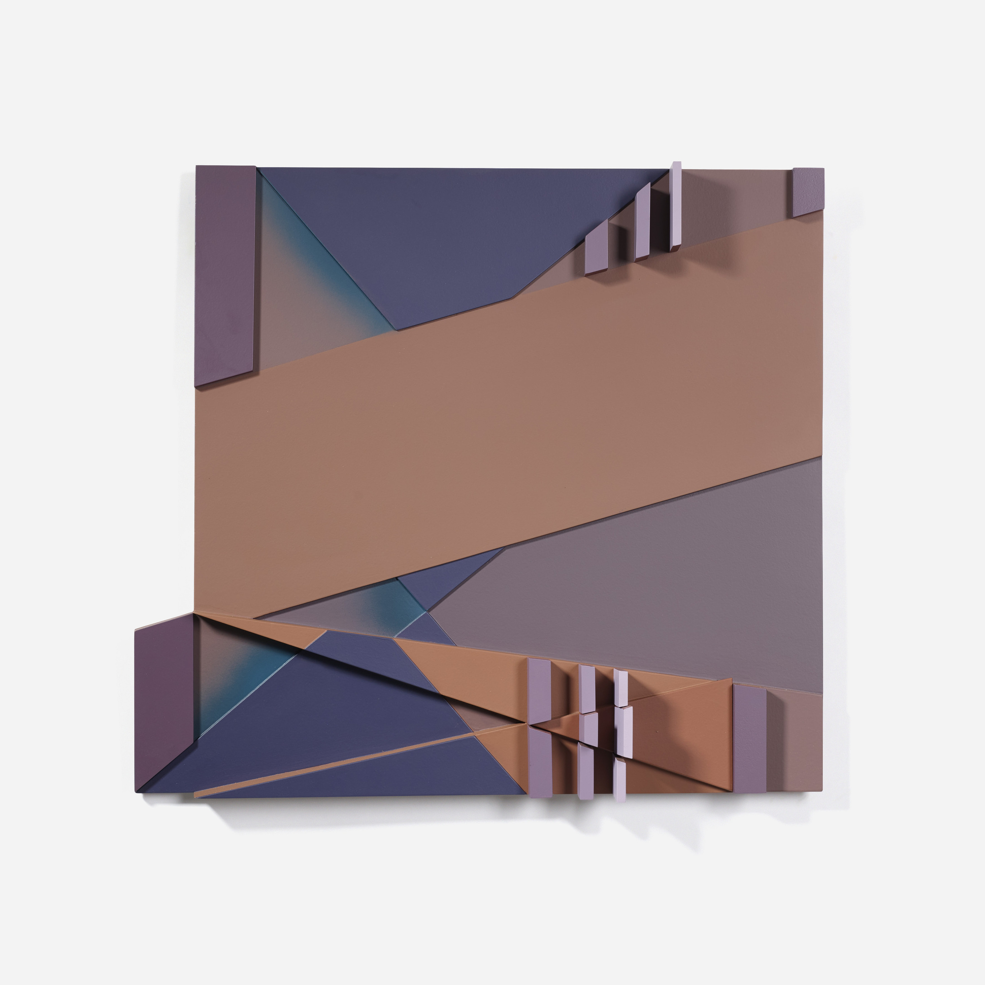 104: David Barr / Structurist Relief No. 231 (1 of 2)