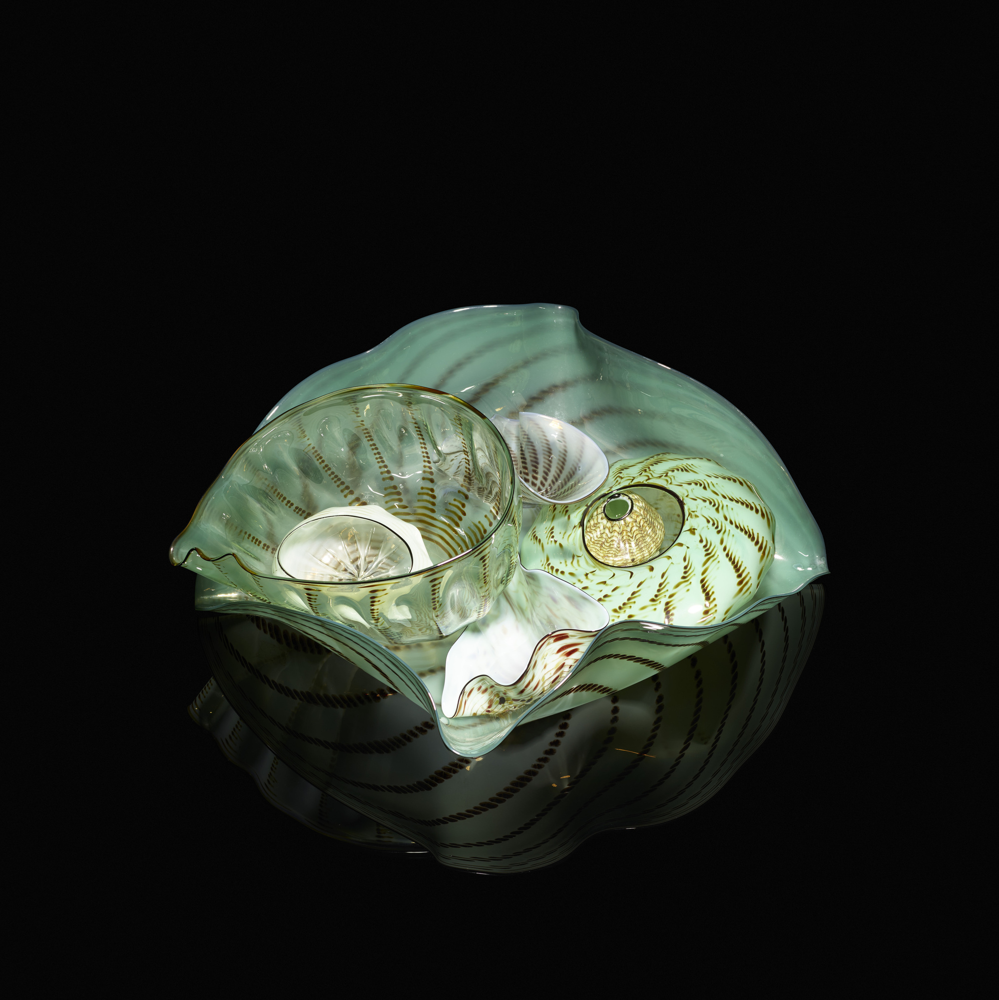 105: Dale Chihuly / Seaform Set (1 of 4)