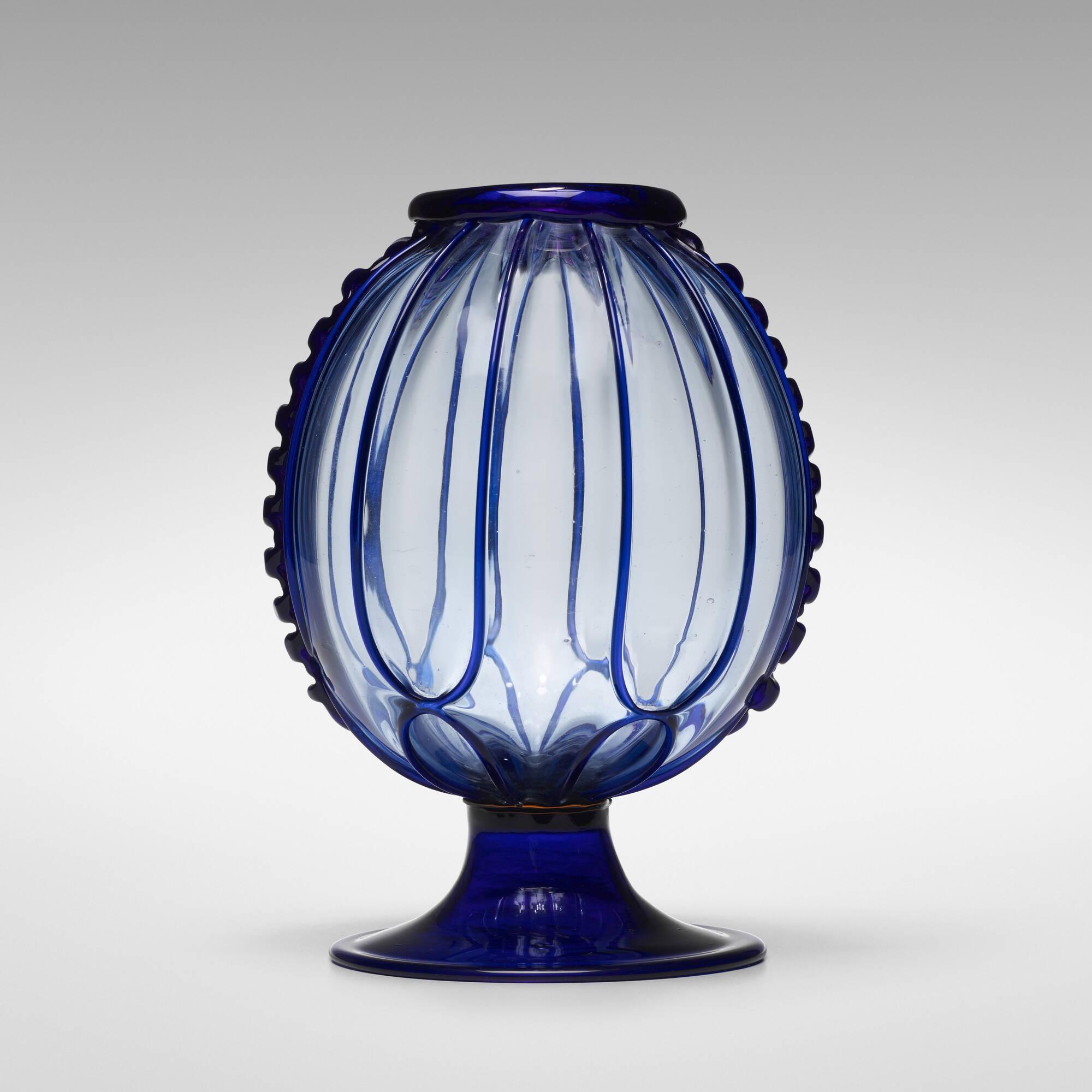 105: Artistica Barovier, attribution / Soffiato vase (1 of 2)