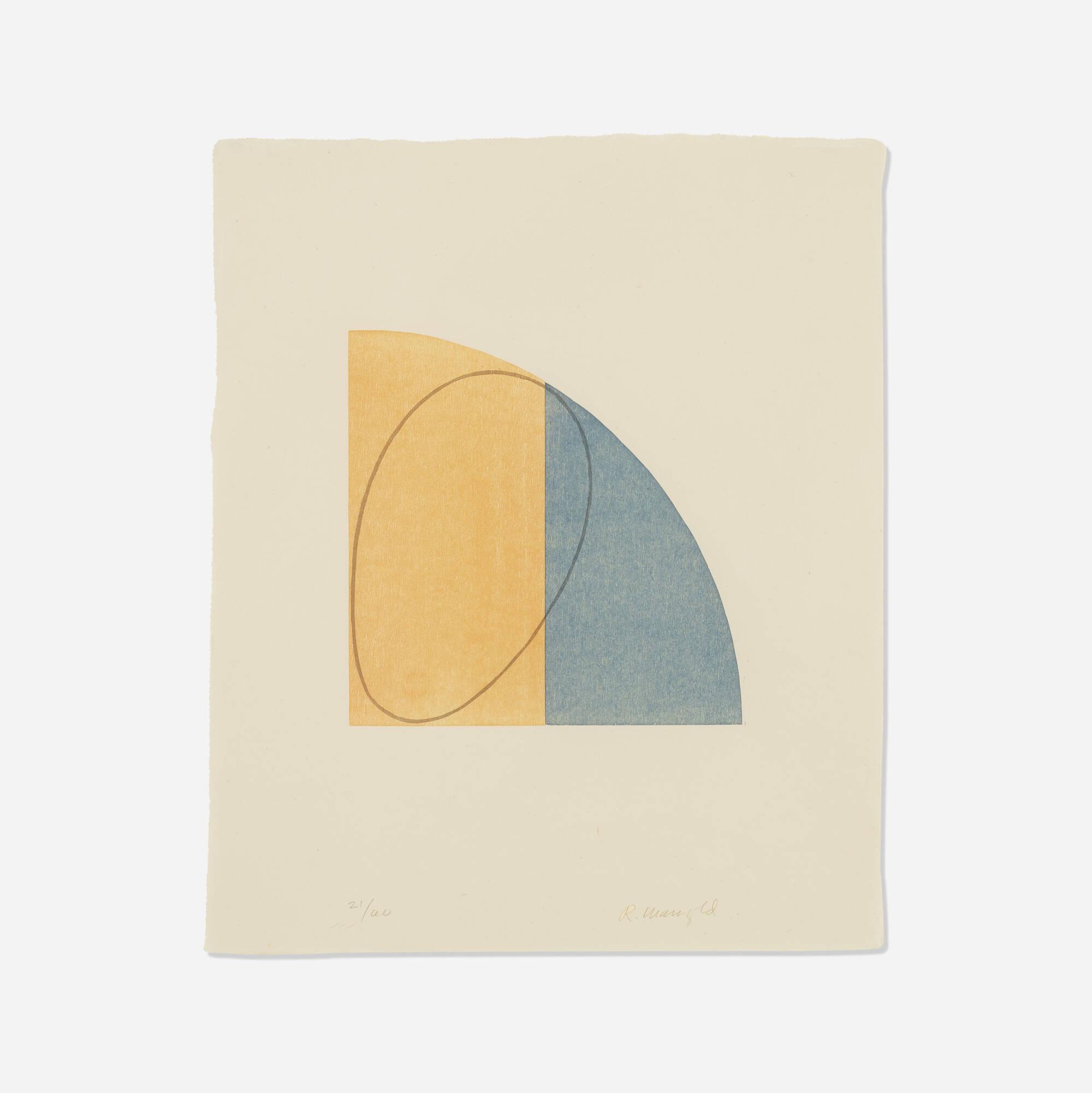 105: Robert Mangold / Curved Plane/Figure II (1 of 1)