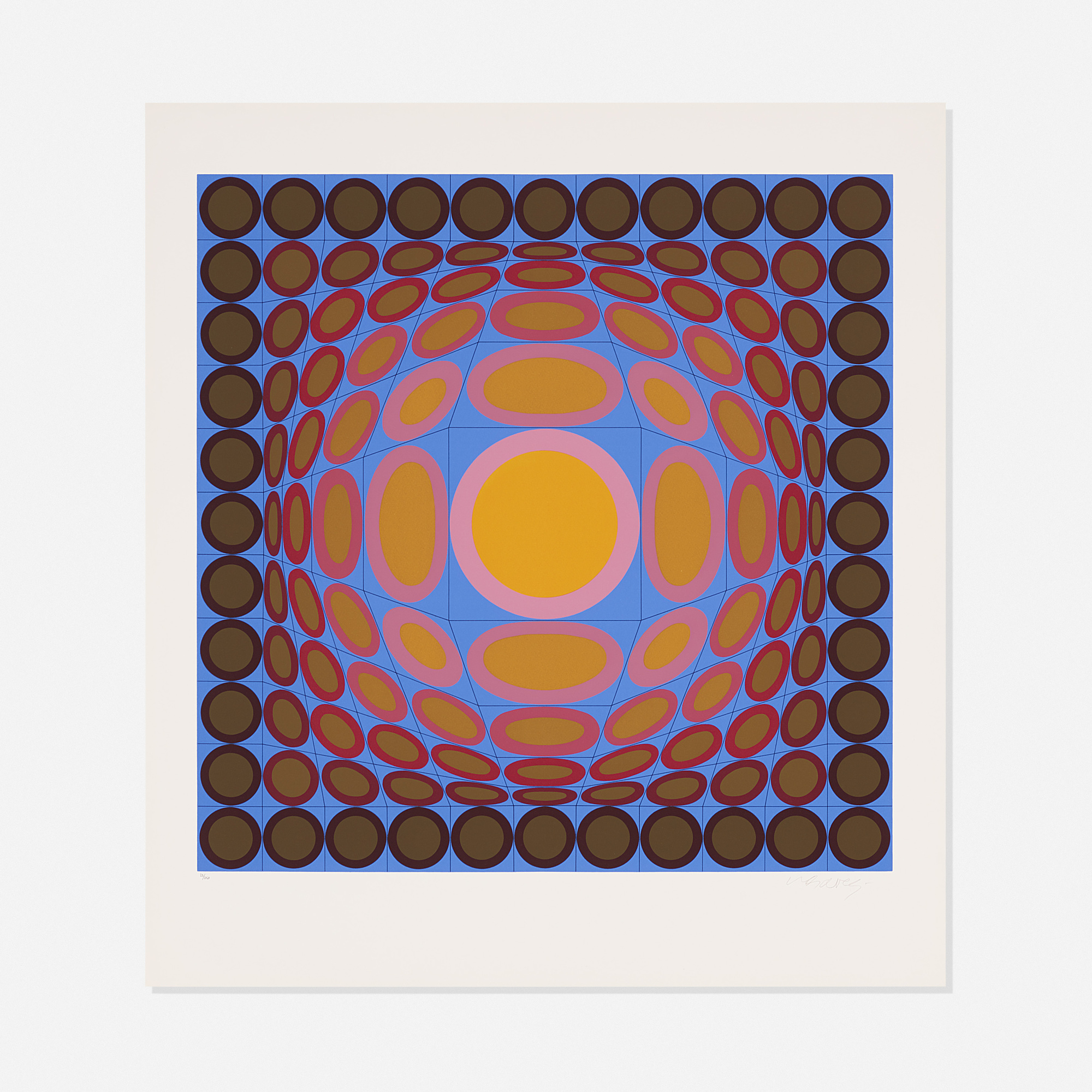 105: Victor Vasarely / Tri-Vega (1 of 2)