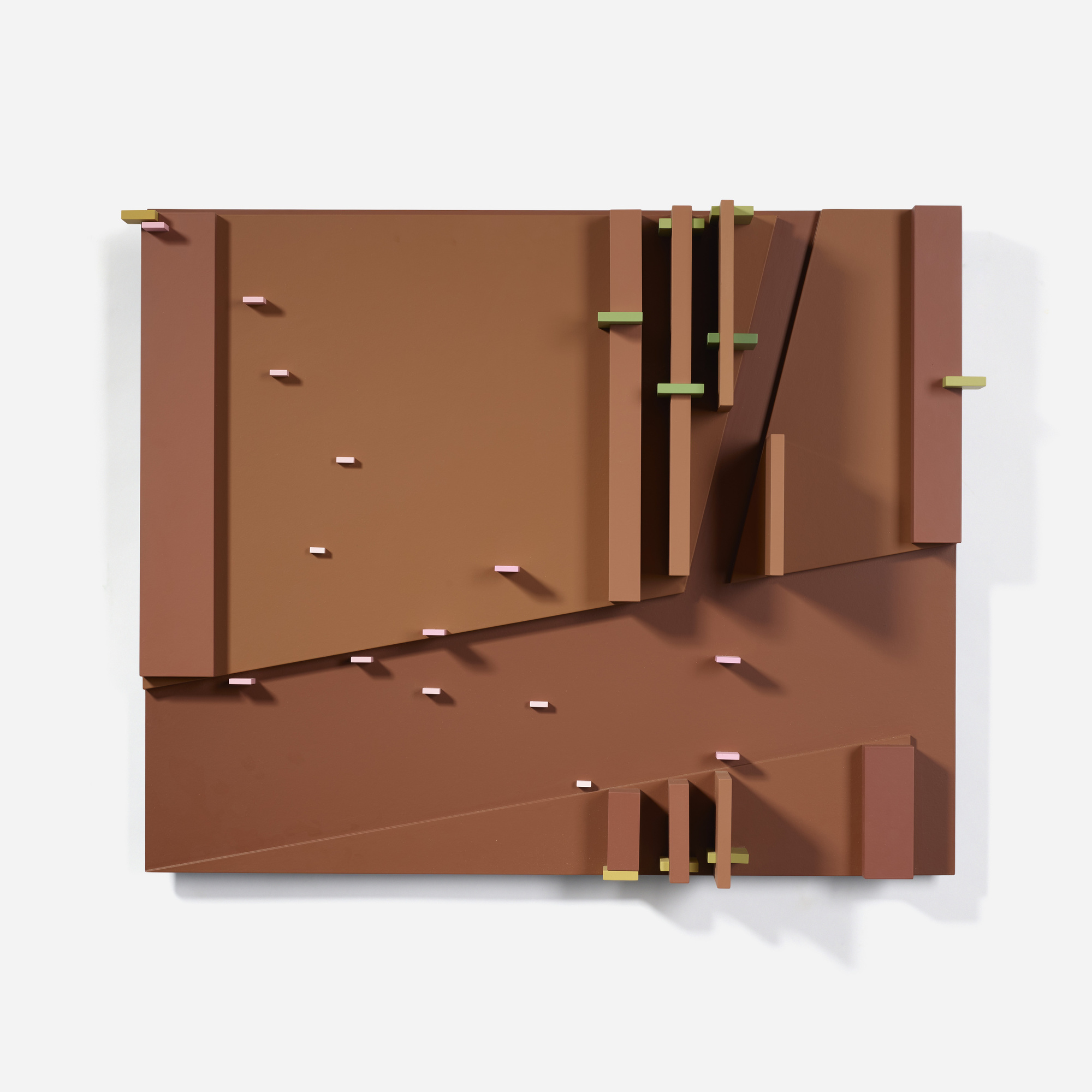 105: David Barr / Structurist Relief No. 137 (1 of 3)