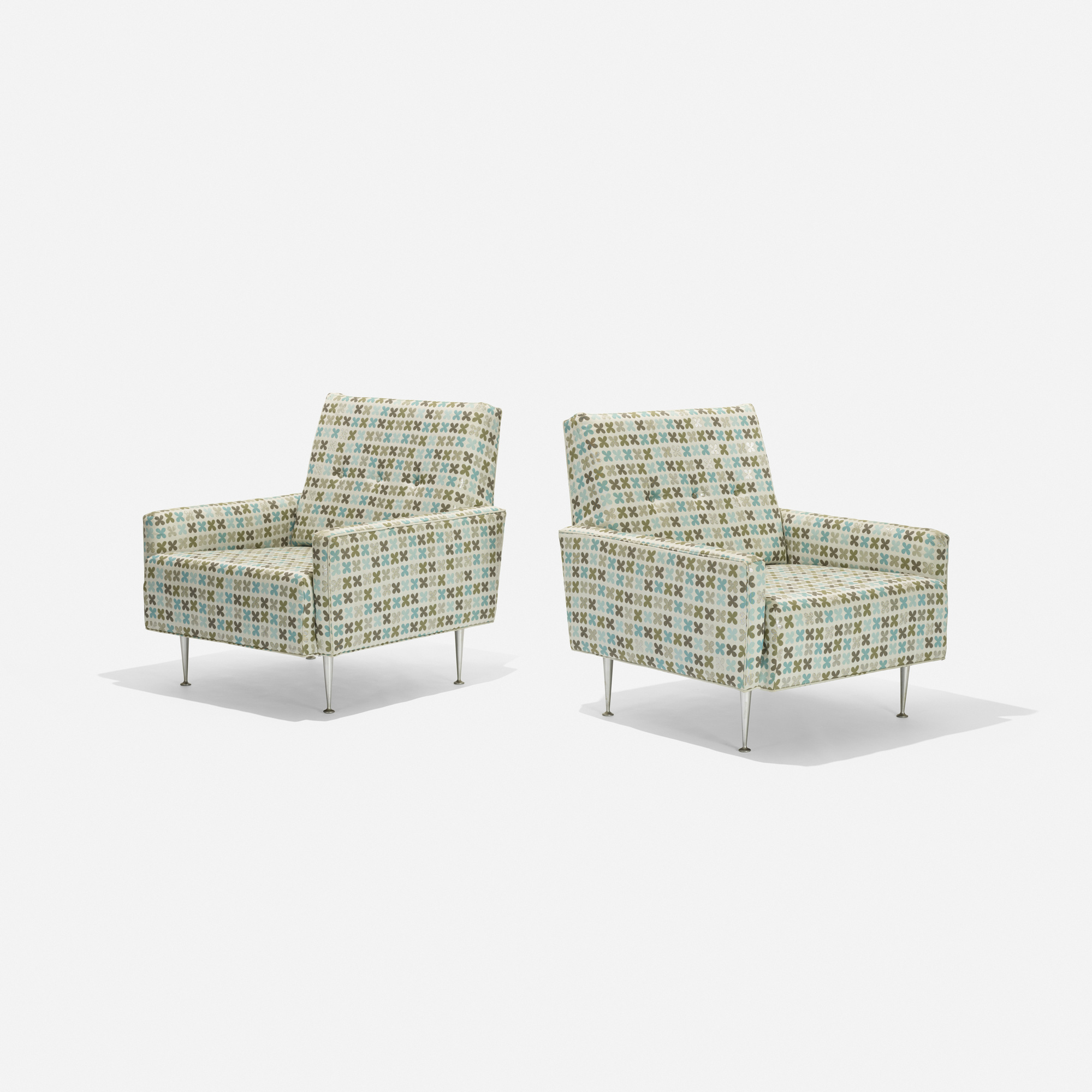 106: George Nelson & Associates / lounge chairs model 5484, pair (1 of 2)