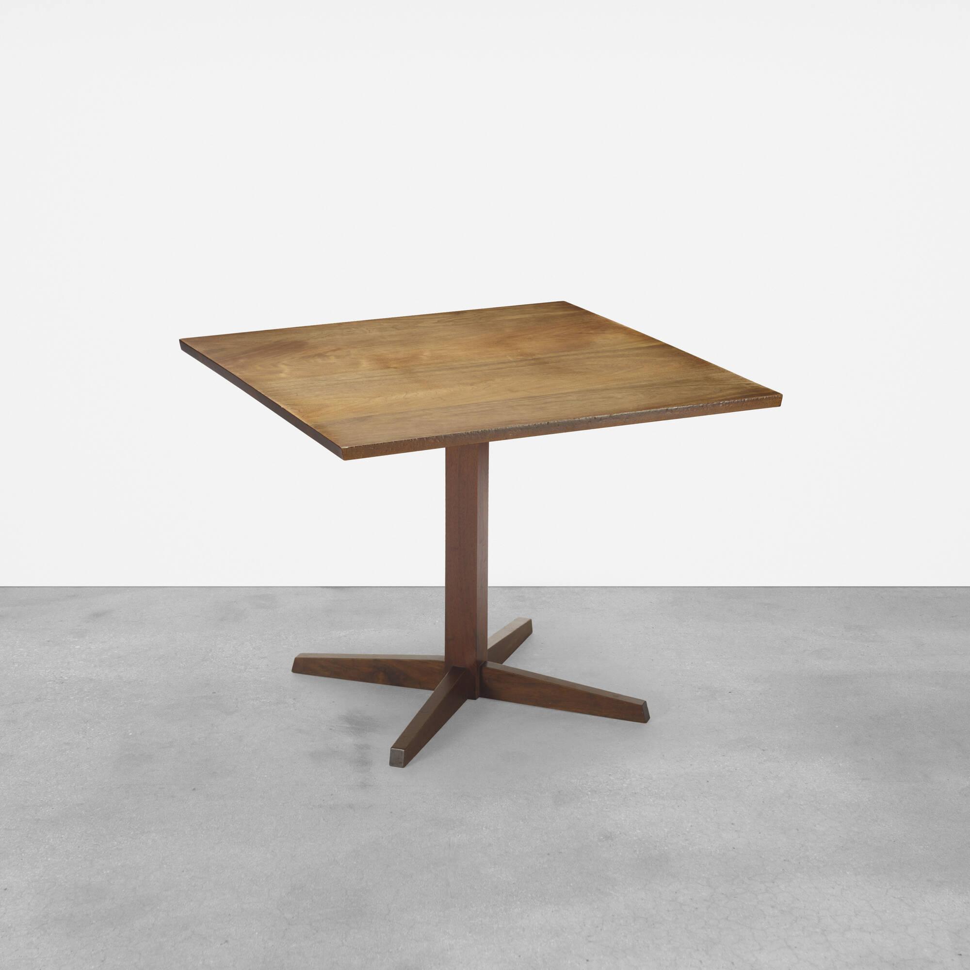 106: George Nakashima / Pedestal table (1 of 2)