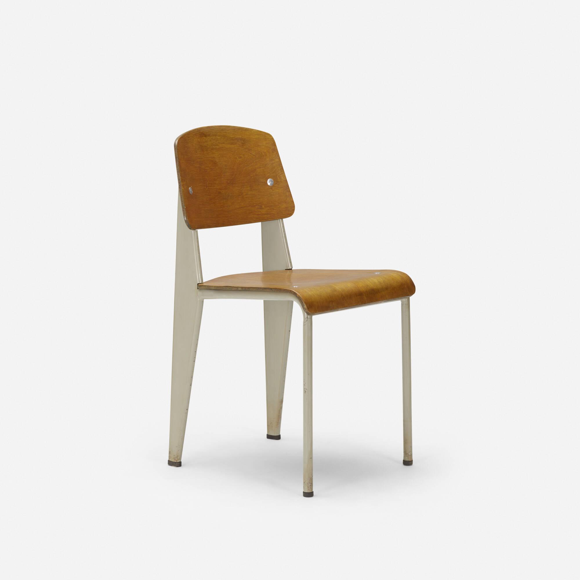 106: Jean Prouvé / U0027Semi Metalu0027 Chair, No. 305 (