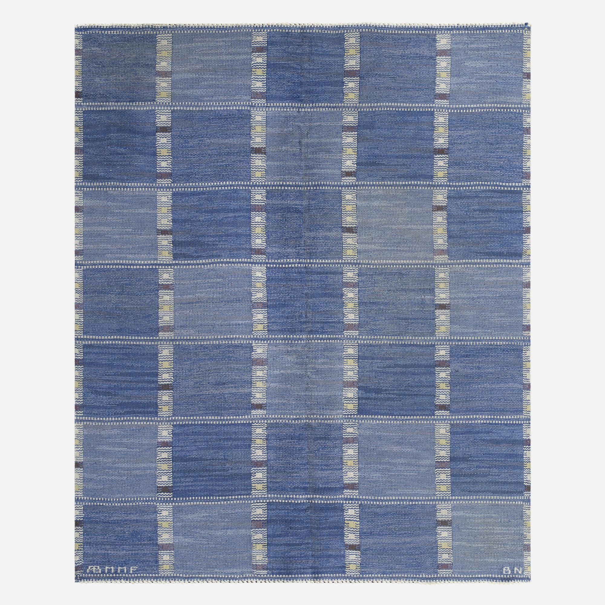 106: Barbro Nilsson / Falurutan flatweave carpet (1 of 3)