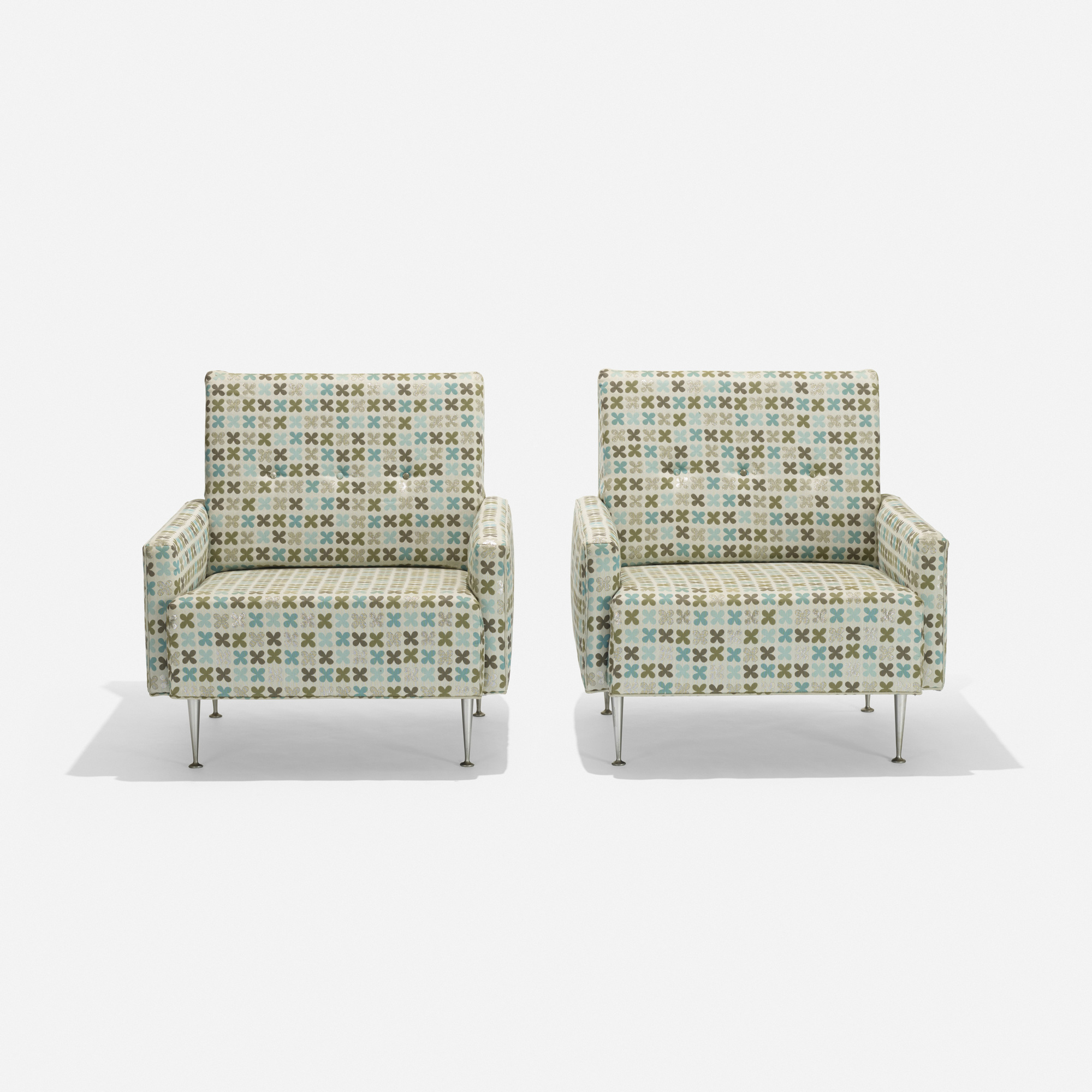 106: George Nelson & Associates / lounge chairs model 5484, pair (2 of 2)