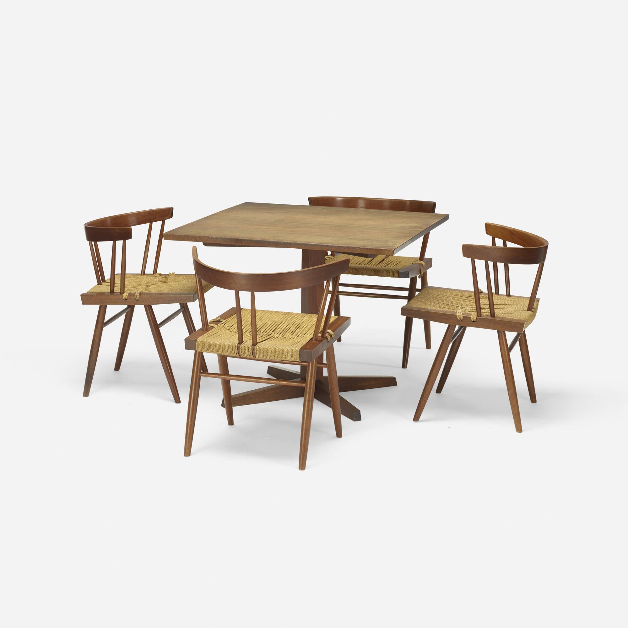 106: George Nakashima / Pedestal table (2 of 2)