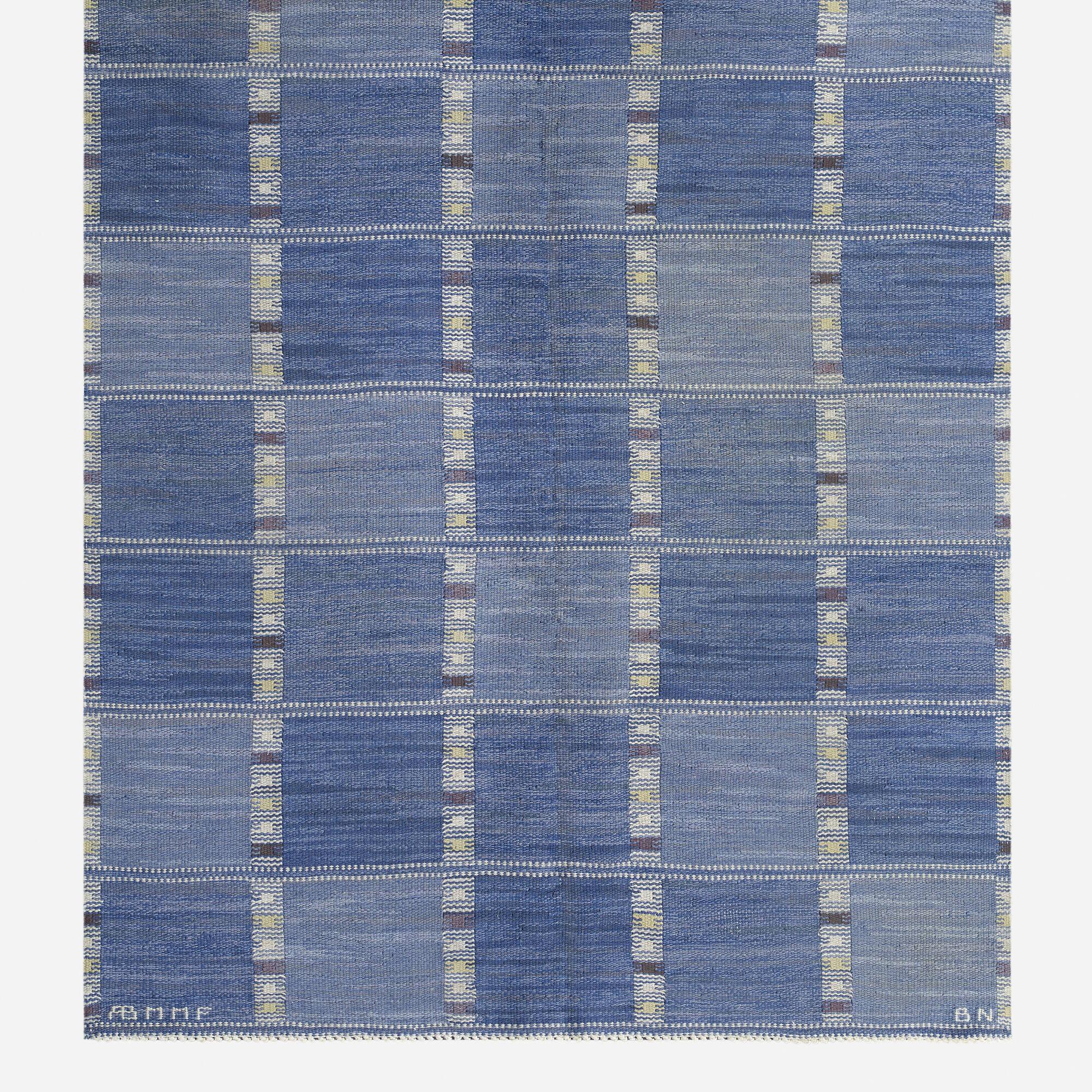 106: Barbro Nilsson / Falurutan flatweave carpet (2 of 3)