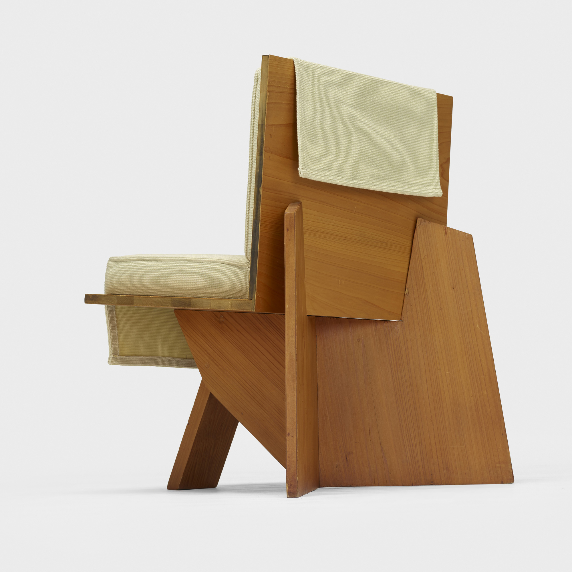 Awe Inspiring 106 Frank Lloyd Wright Lounge Chair From The Clarence Theyellowbook Wood Chair Design Ideas Theyellowbookinfo