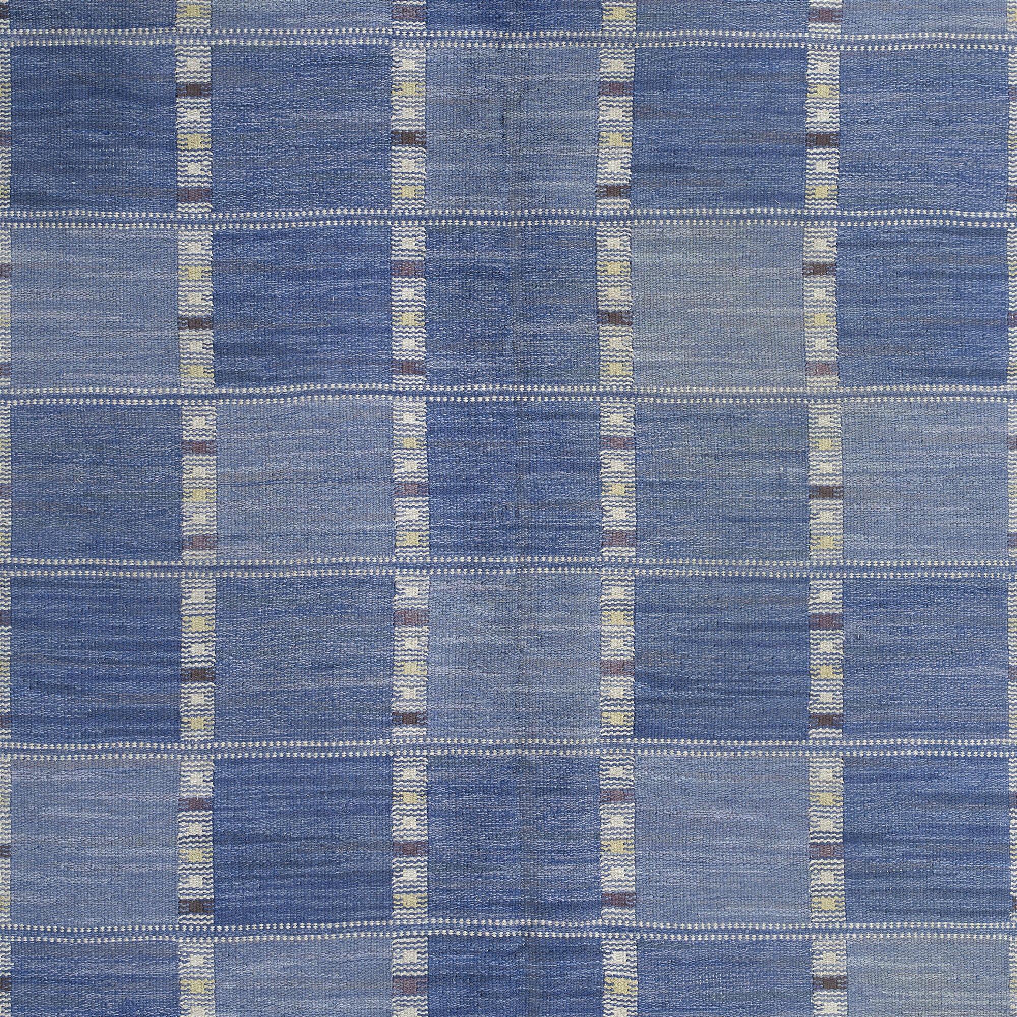 106: Barbro Nilsson / Falurutan flatweave carpet (3 of 3)