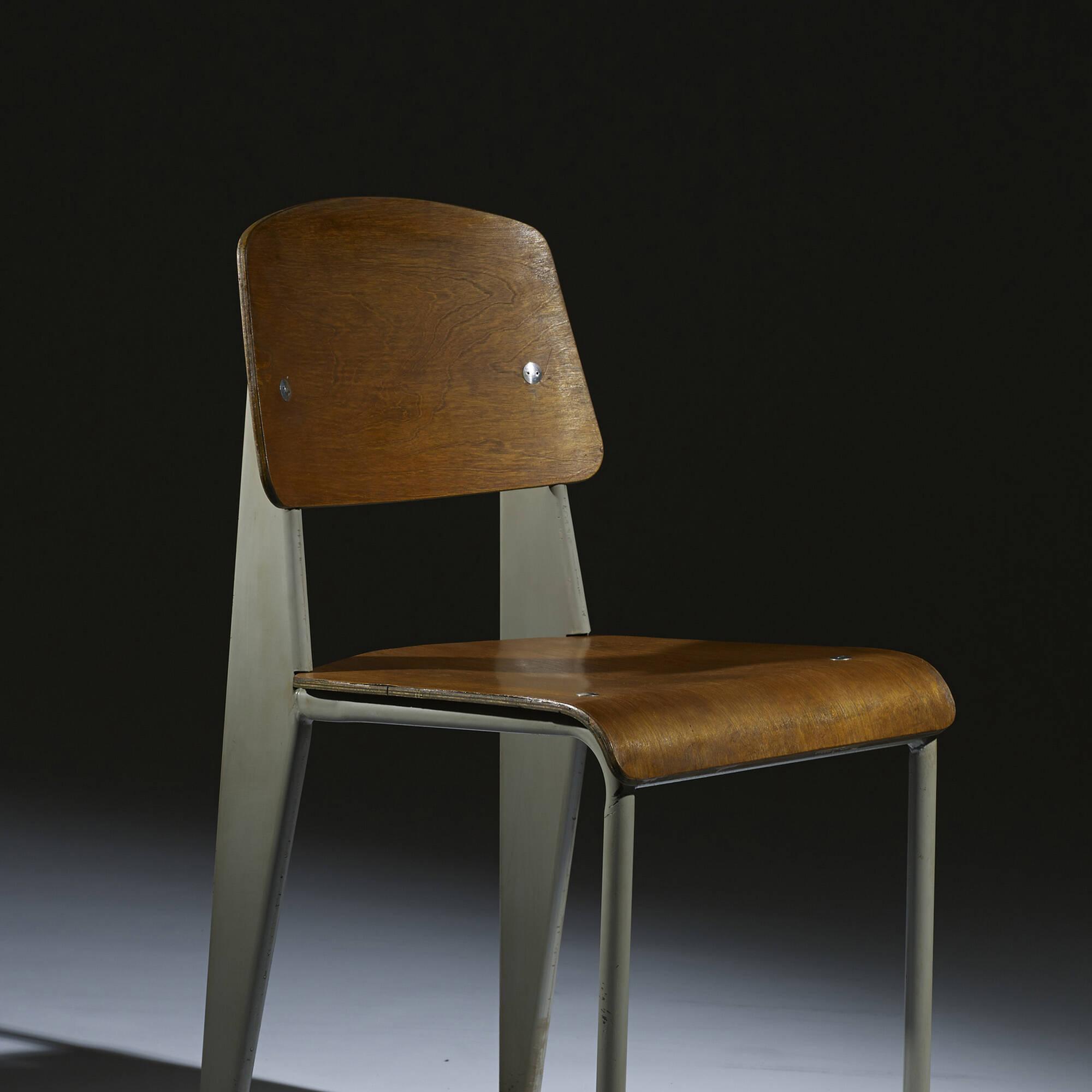 ... 106: Jean Prouvé / Standard Chair, No. 305 (4 Of 5)