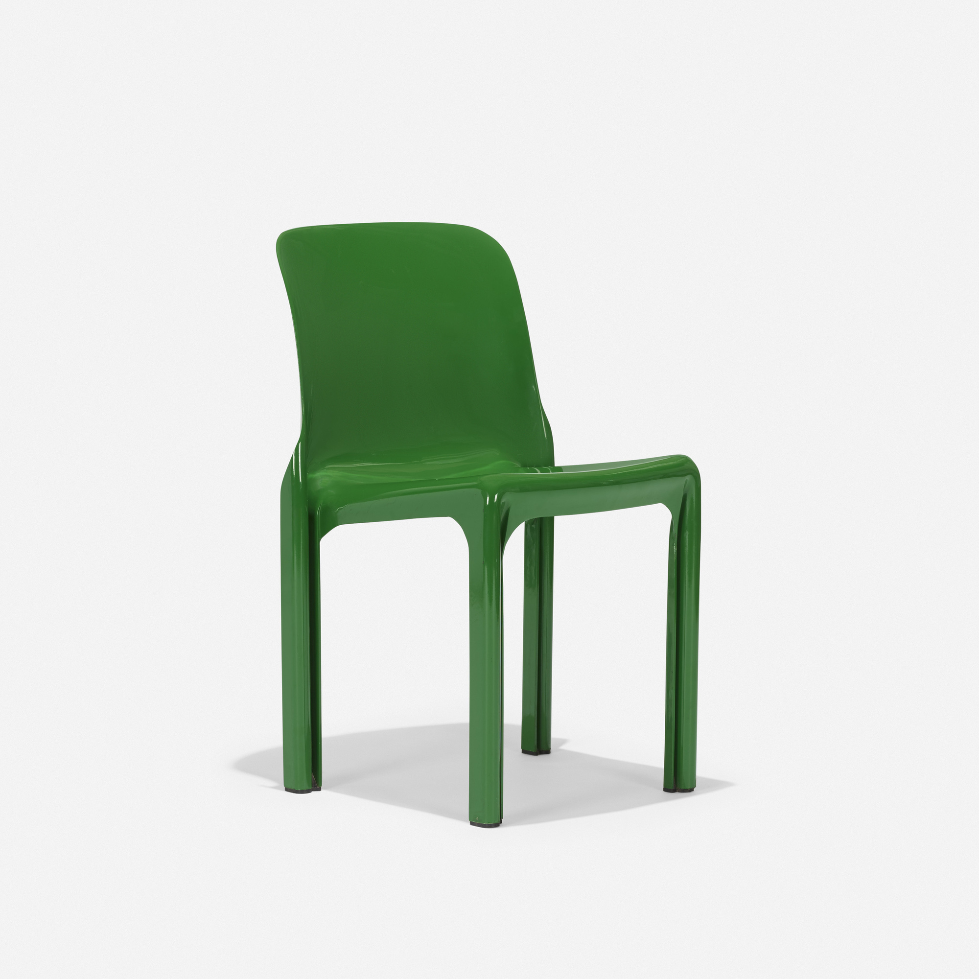 107: Vico Magistretti / Selene Stacking chair (1 of 4)