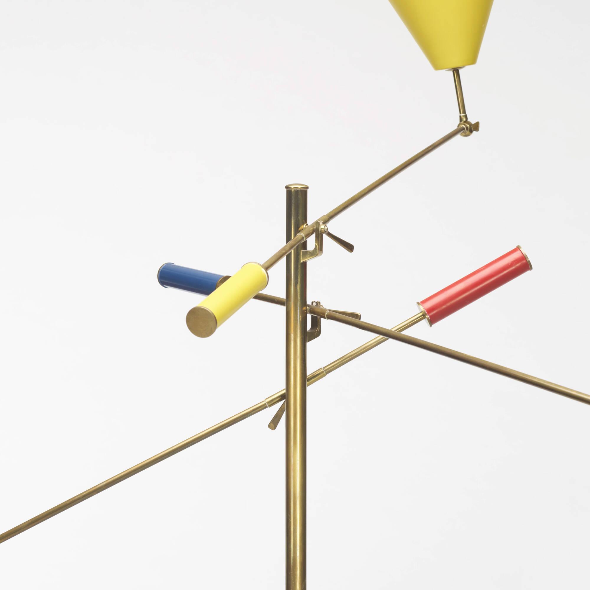 107: Angelo Lelii / three-arm floor lamp (2 of 2)
