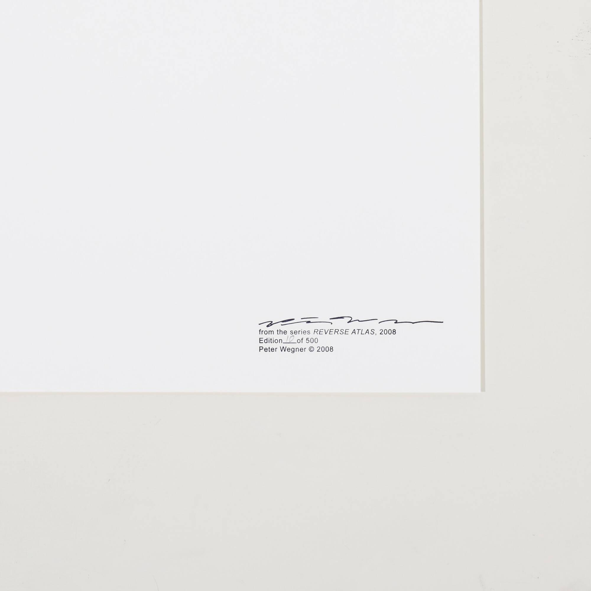 107: Peter Wegner / Reverse Atlas (ten works) (2 of 2)