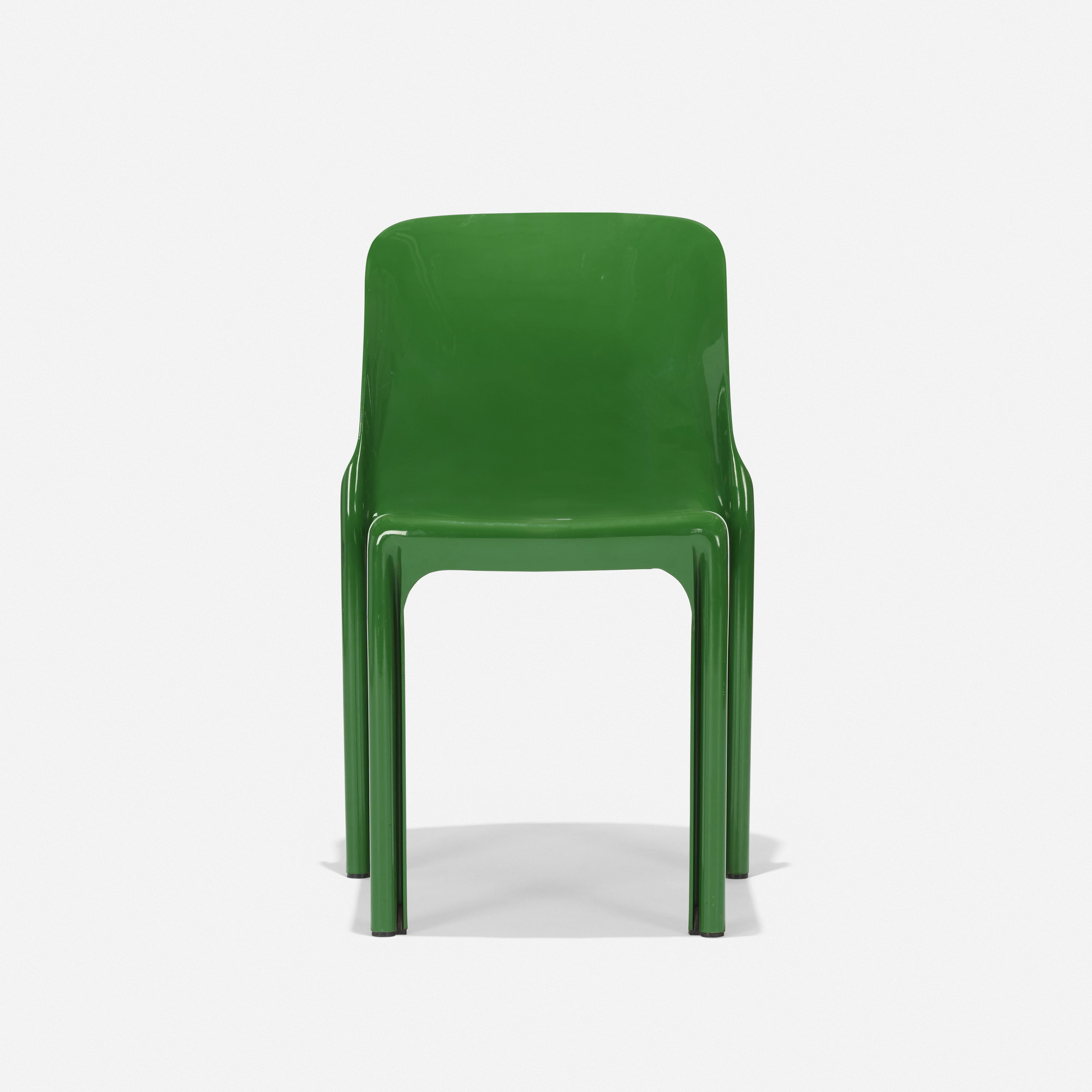 107: Vico Magistretti / Selene Stacking chair (2 of 4)