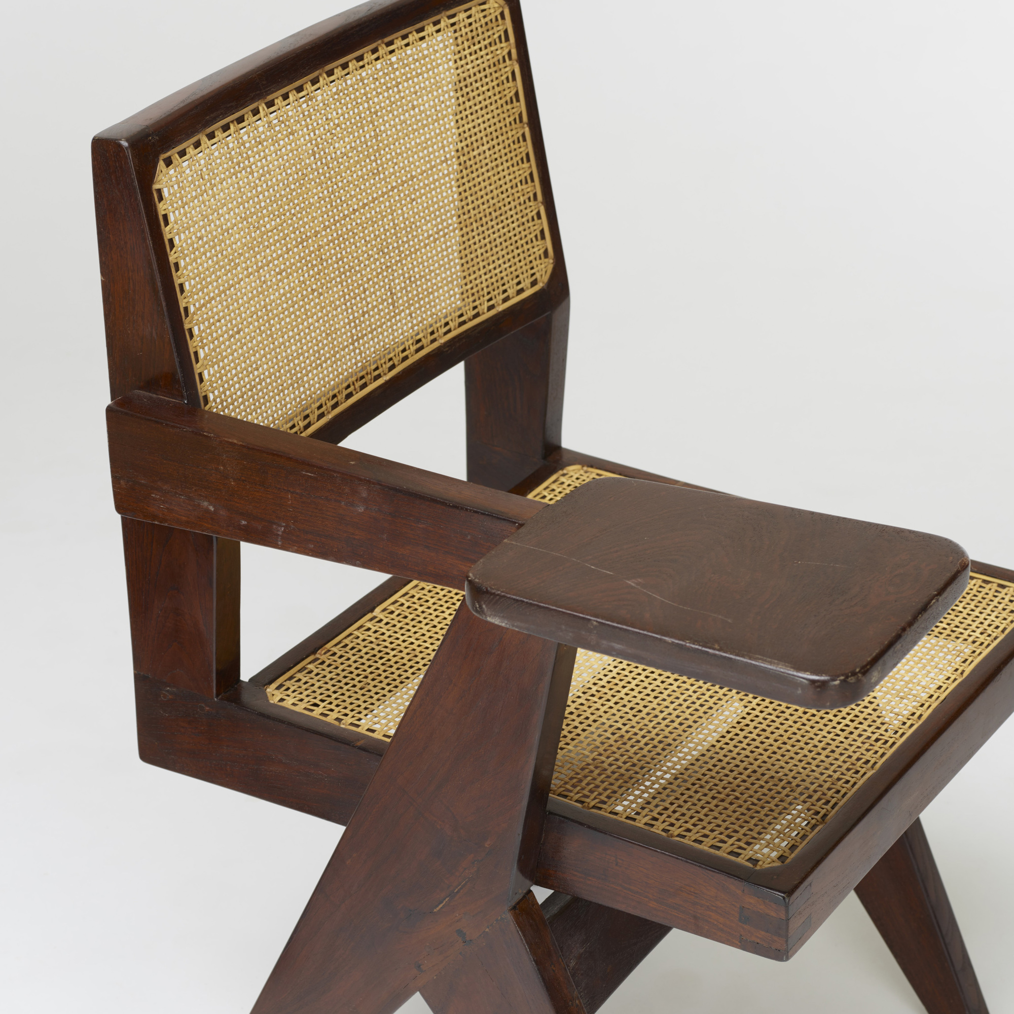 107: Pierre Jeanneret / pair of writing chairs from Chandigarh (3 of 3)