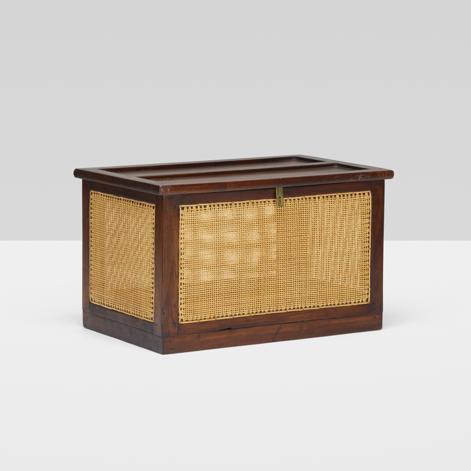 108: Pierre Jeanneret / linen chest from the M.L.A. Flats building, Chandigarh (1 of 3)