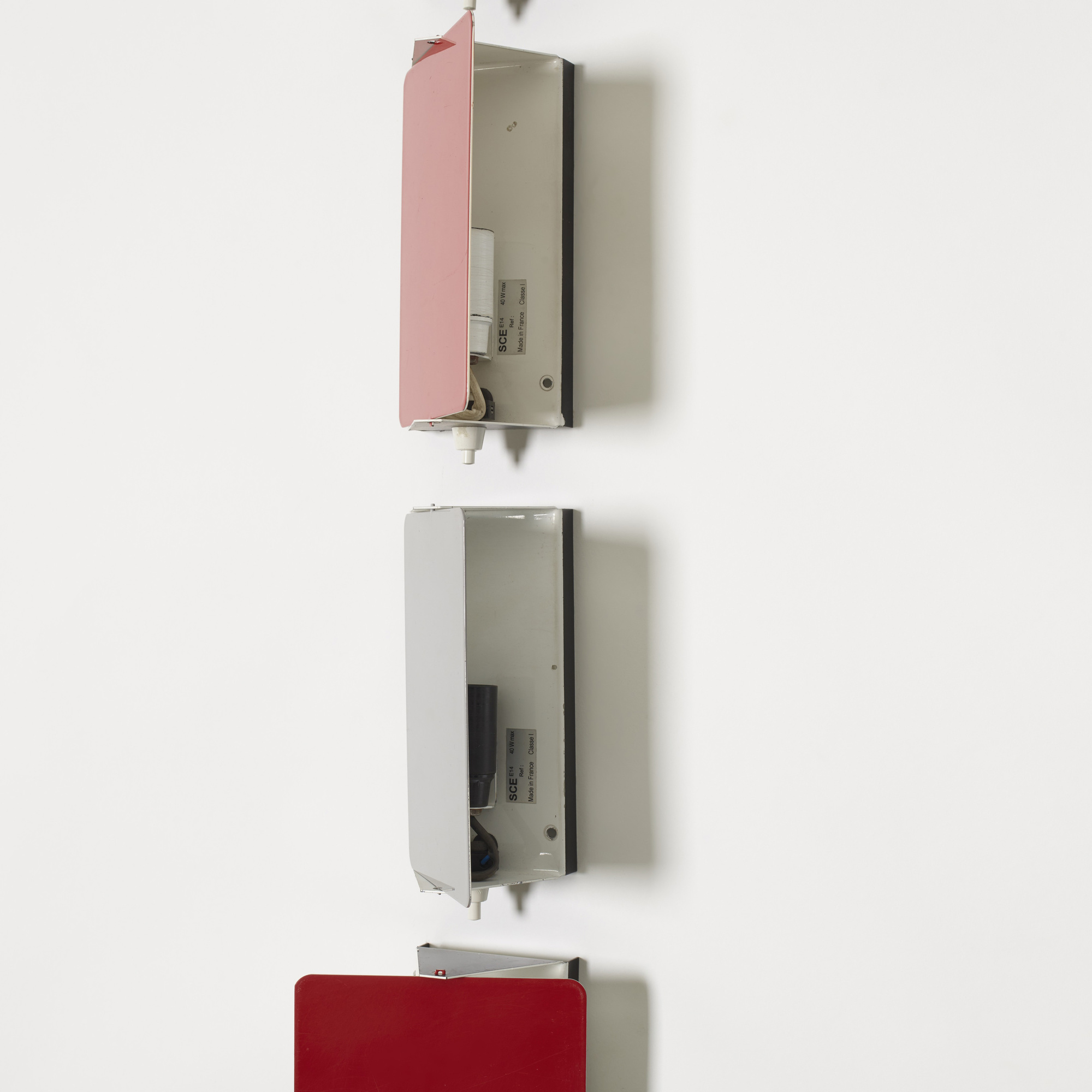 108: Charlotte Perriand / wall lights, set of twenty-four (2 of 2)