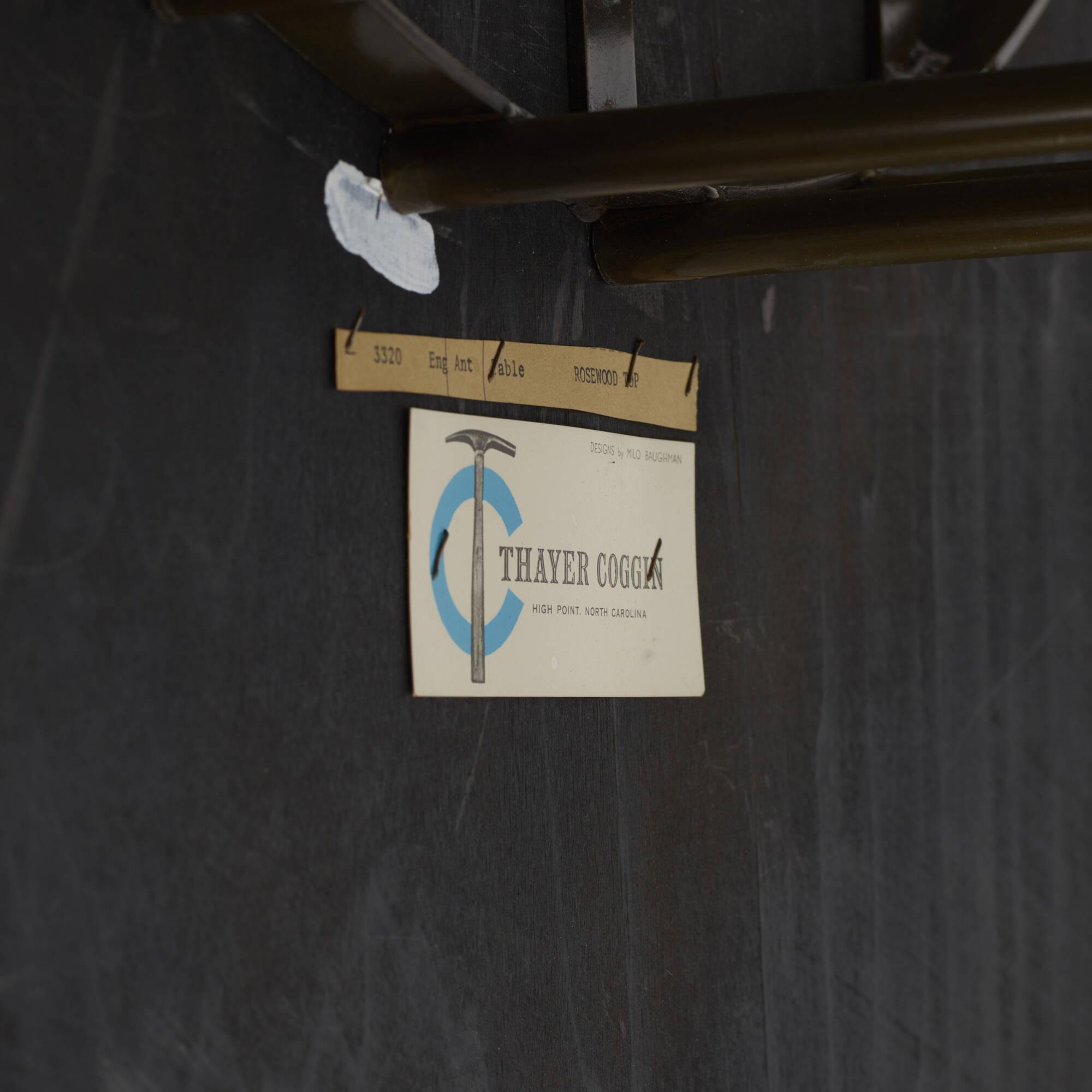 108: Milo Baughman / coffee table (3 of 3)
